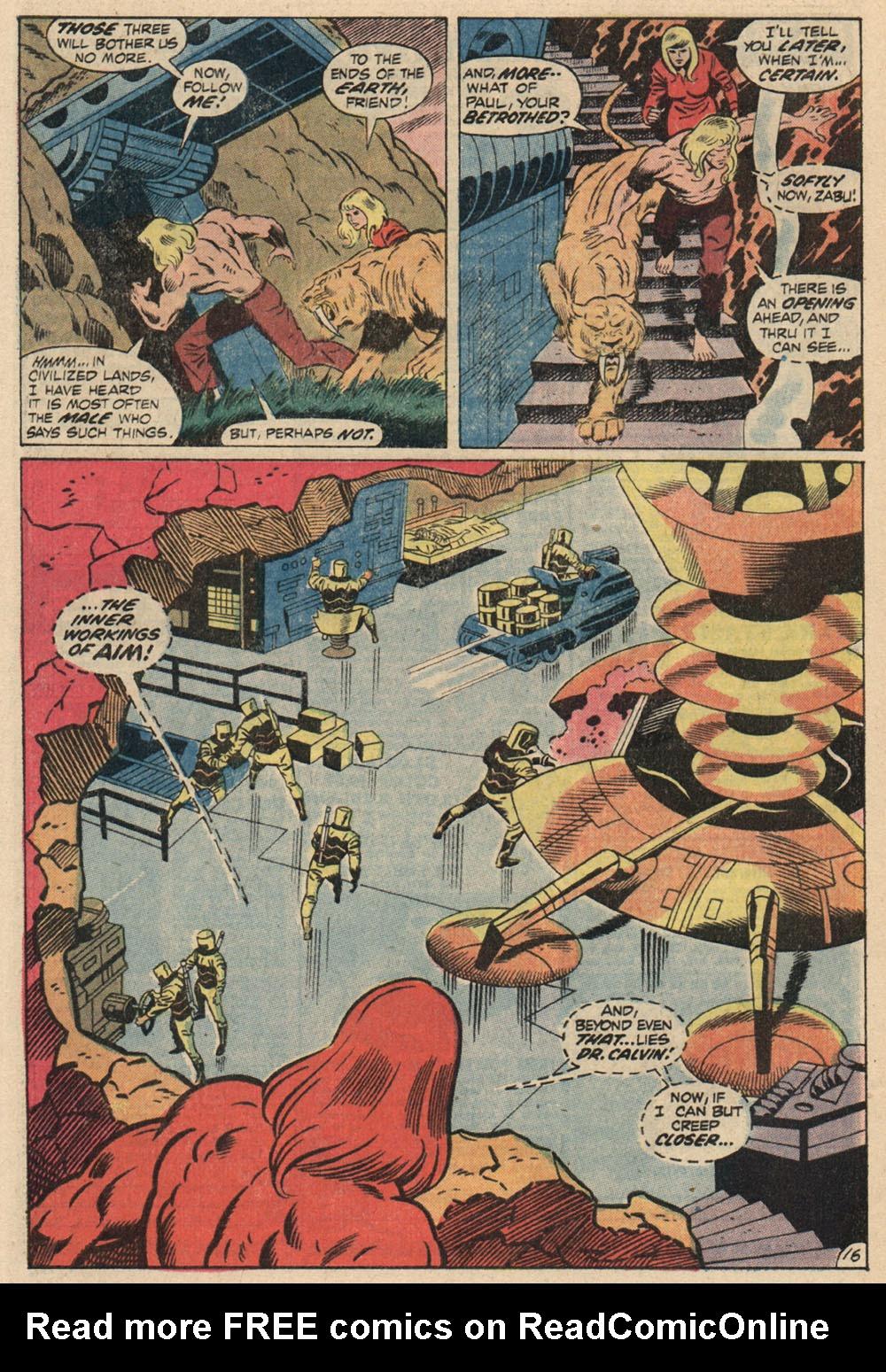 Read online Astonishing Tales (1970) comic -  Issue #13 - 18