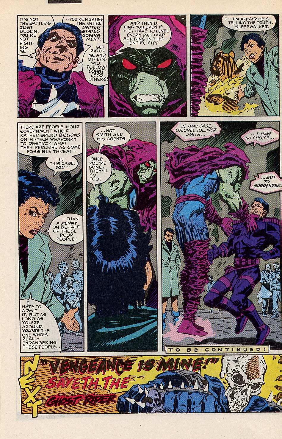 Read online Sleepwalker comic -  Issue #10 - 23