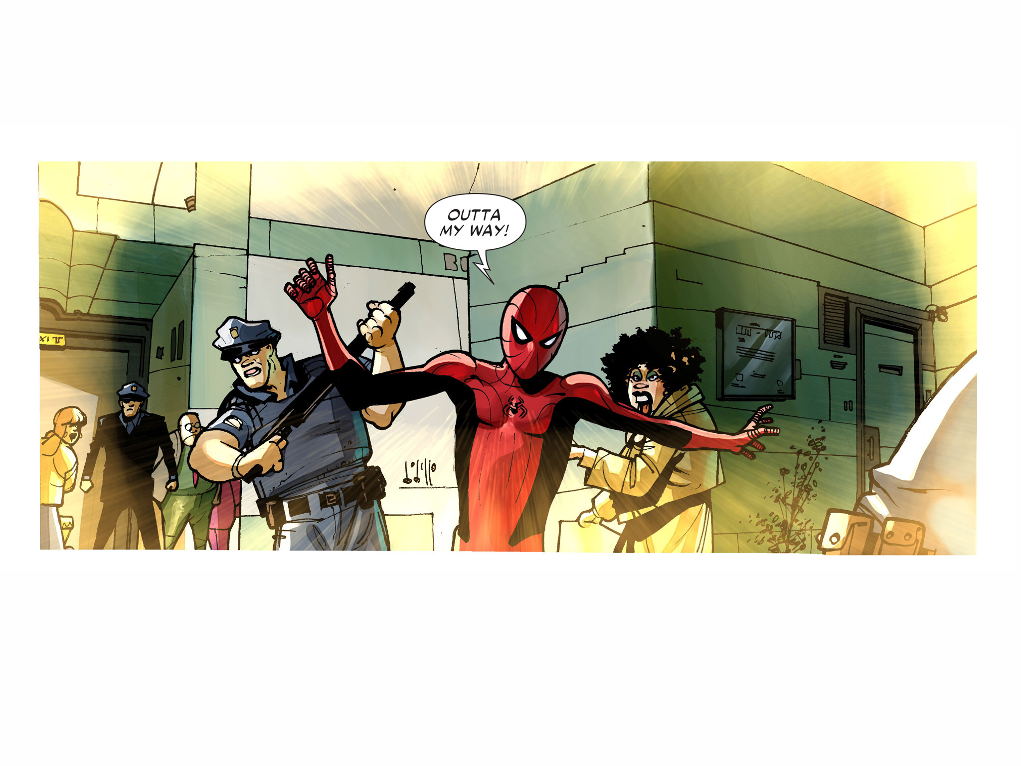 Read online Amazing Spider-Man: Who Am I? comic -  Issue # Full (Part 1) - 94