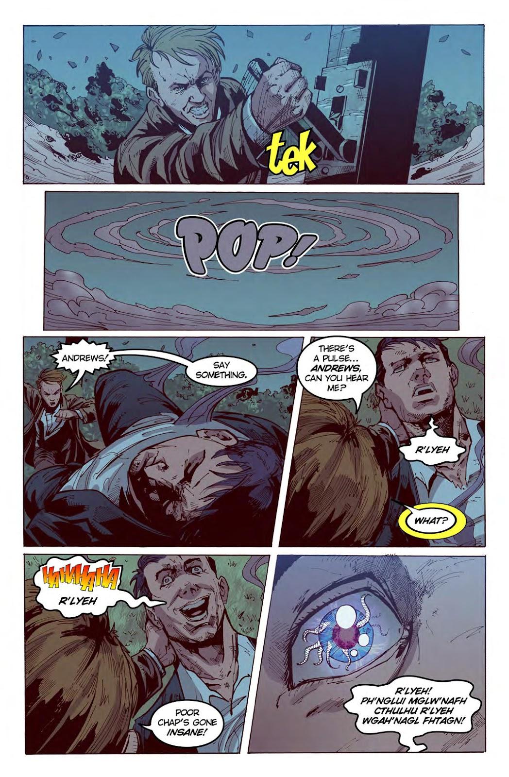 Read online American Dreams comic -  Issue #1 - 22