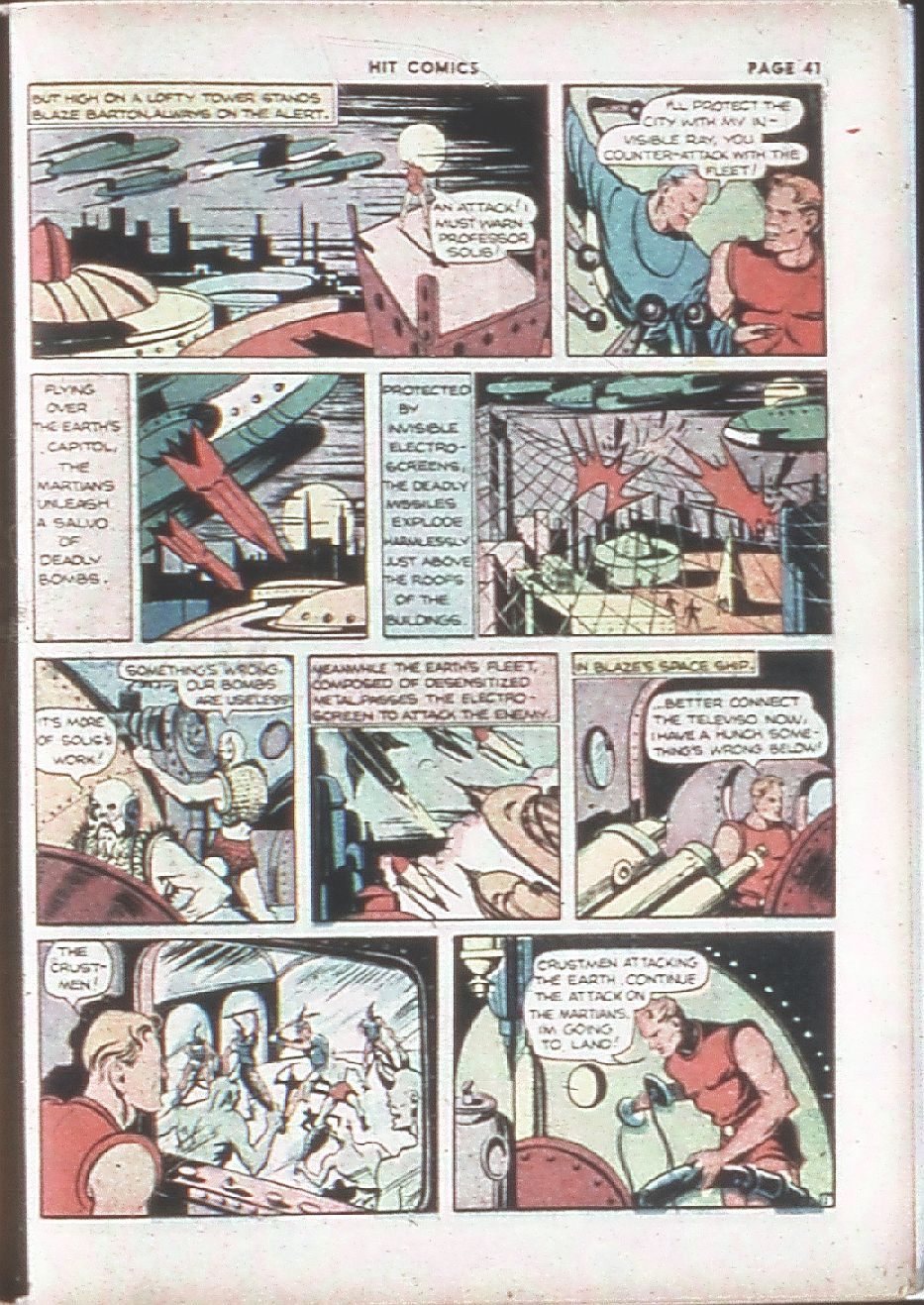 Read online Hit Comics comic -  Issue #7 - 43
