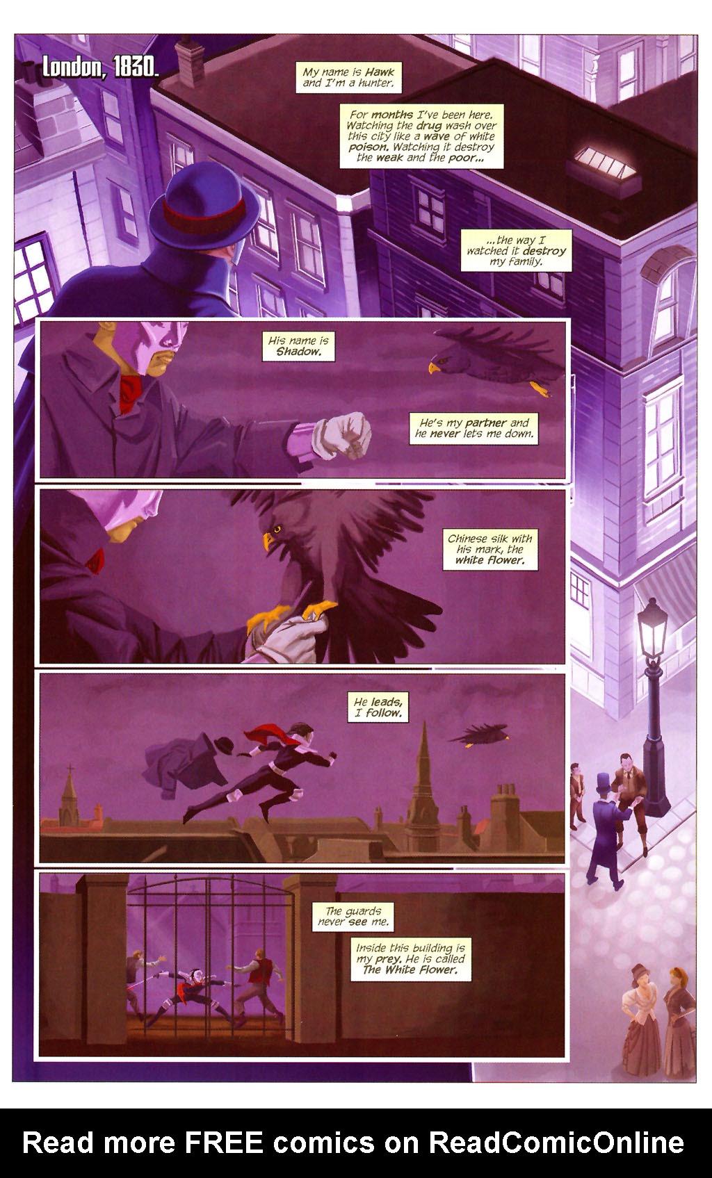 Read online ShadowHawk (2005) comic -  Issue #13 - 12