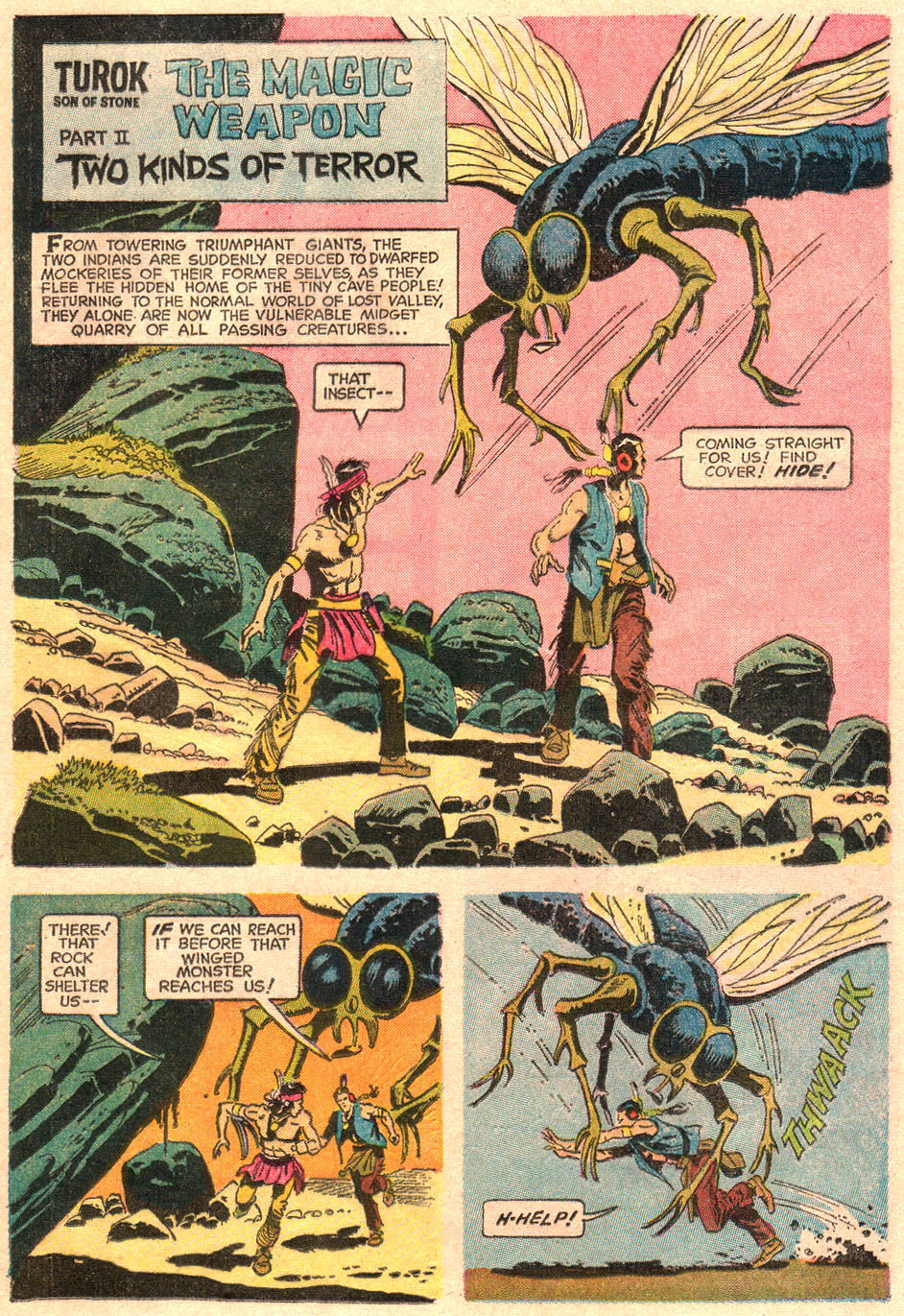 Read online Turok, Son of Stone comic -  Issue #67 - 21