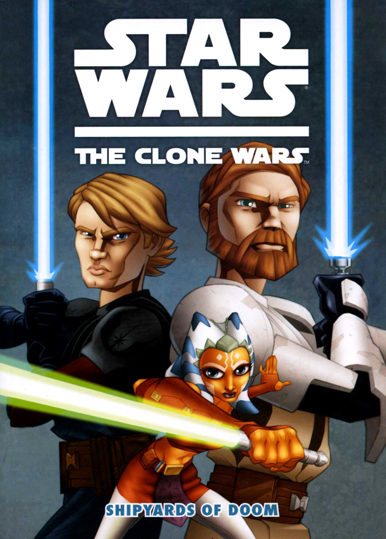 Read online Star Wars: The Clone Wars - Shipyards of Doom comic -  Issue # Full - 1