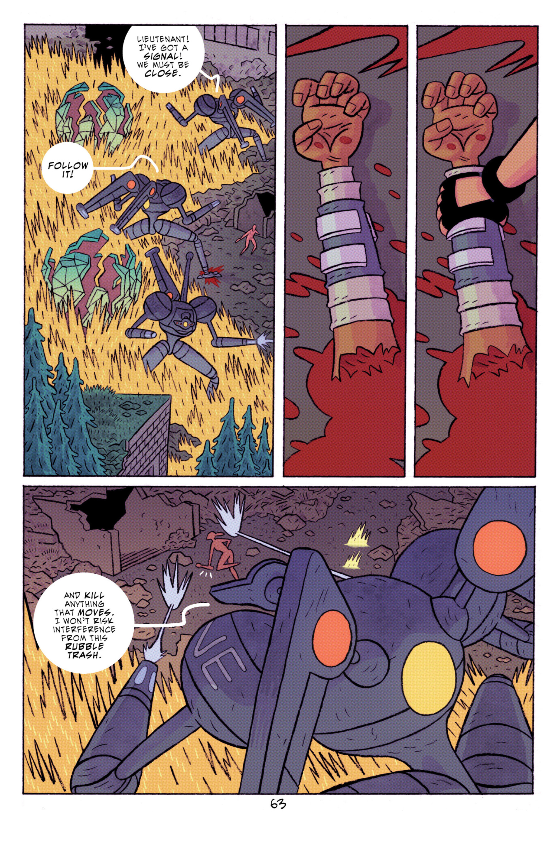 Read online ApocalyptiGirl: An Aria for the End Times comic -  Issue #ApocalyptiGirl: An Aria for the End Times Full - 71