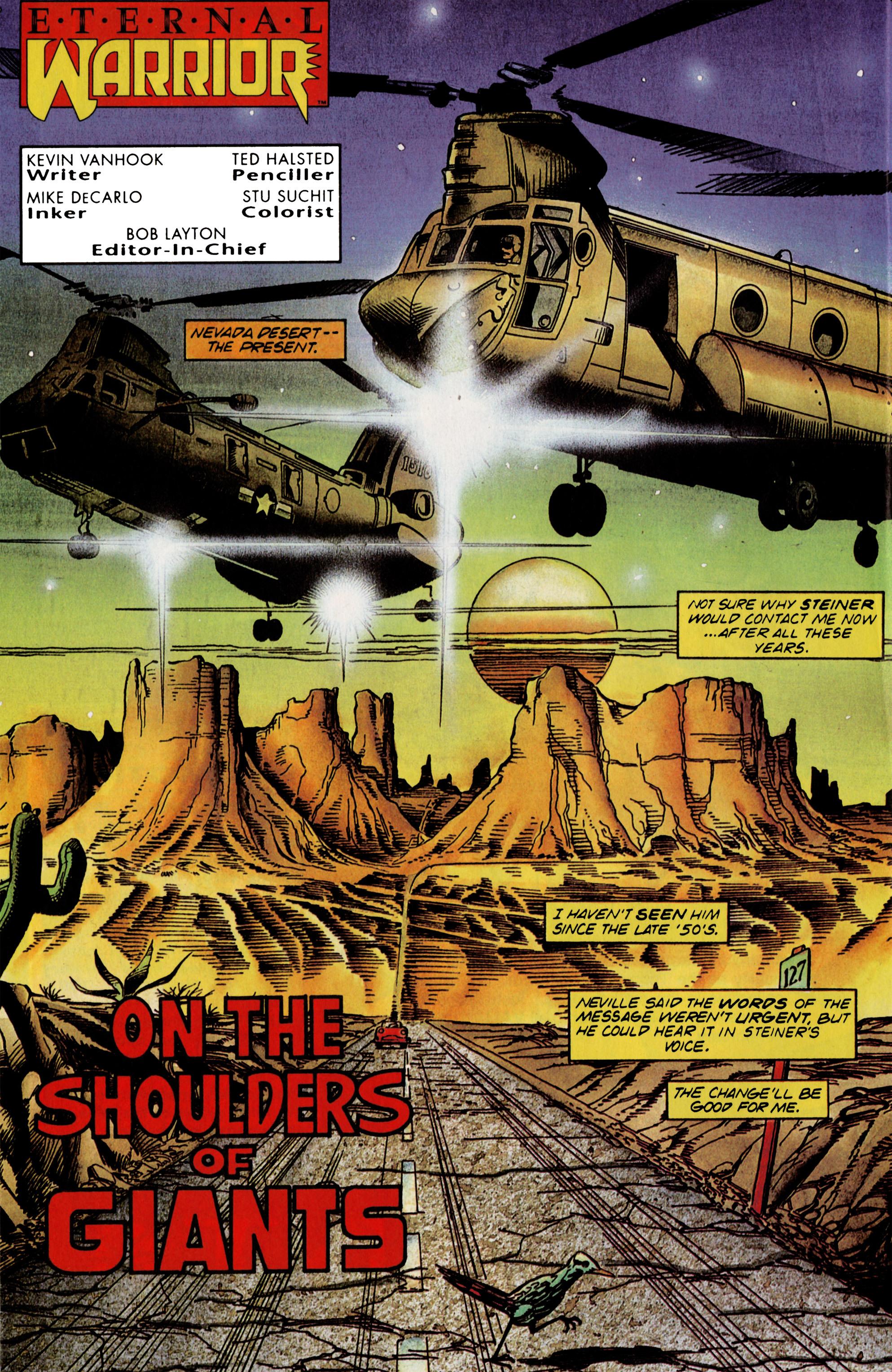 Read online Eternal Warrior (1992) comic -  Issue #21 - 6
