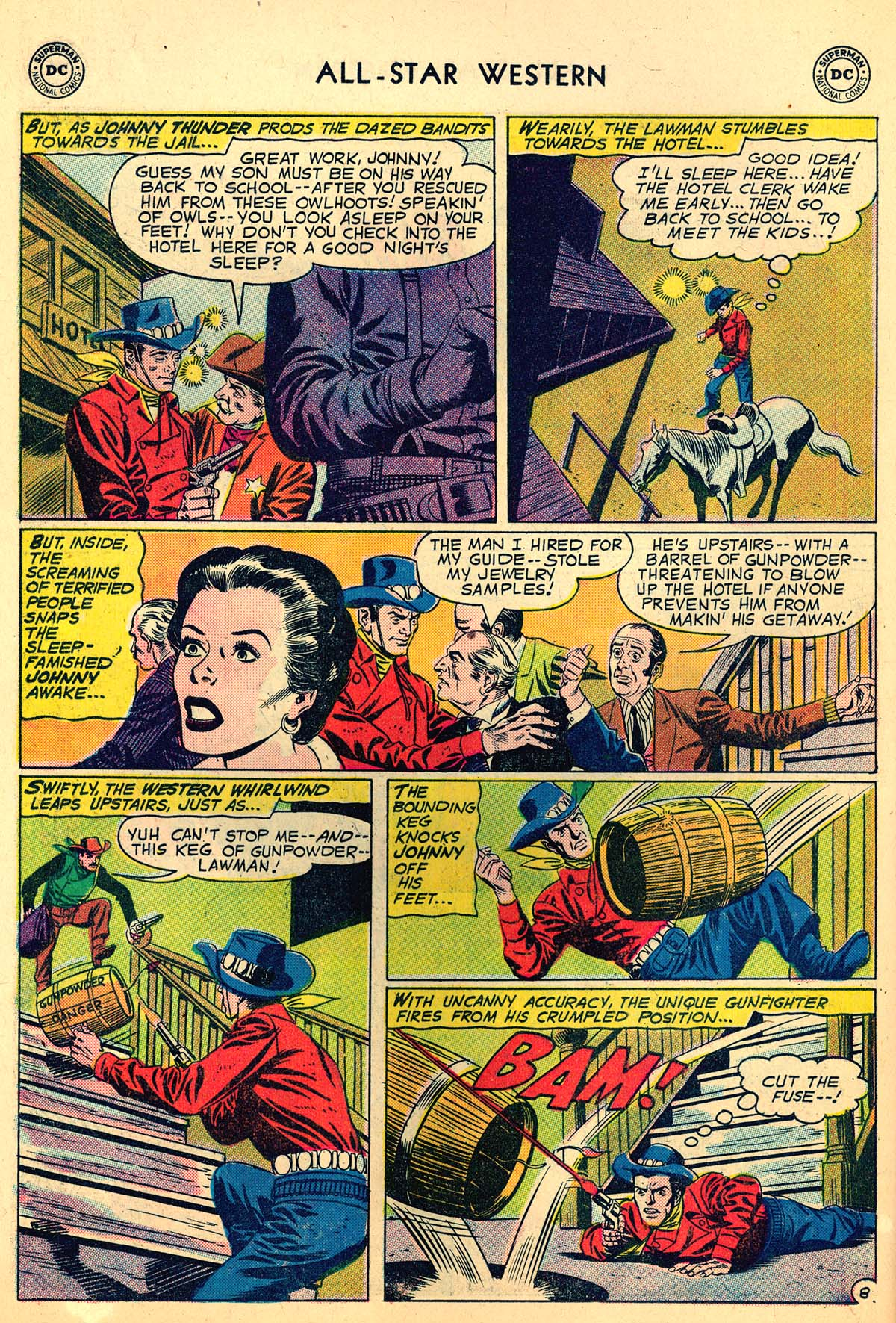 Read online All-Star Western (1951) comic -  Issue #110 - 10