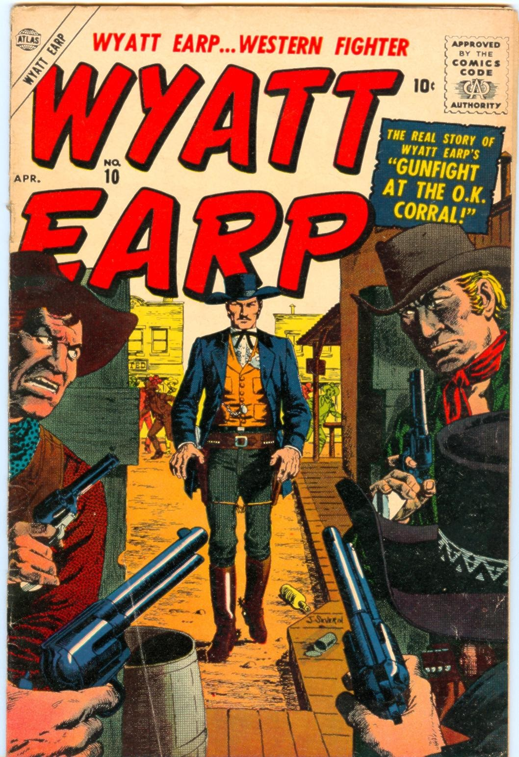 Wyatt Earp issue 10 - Page 1