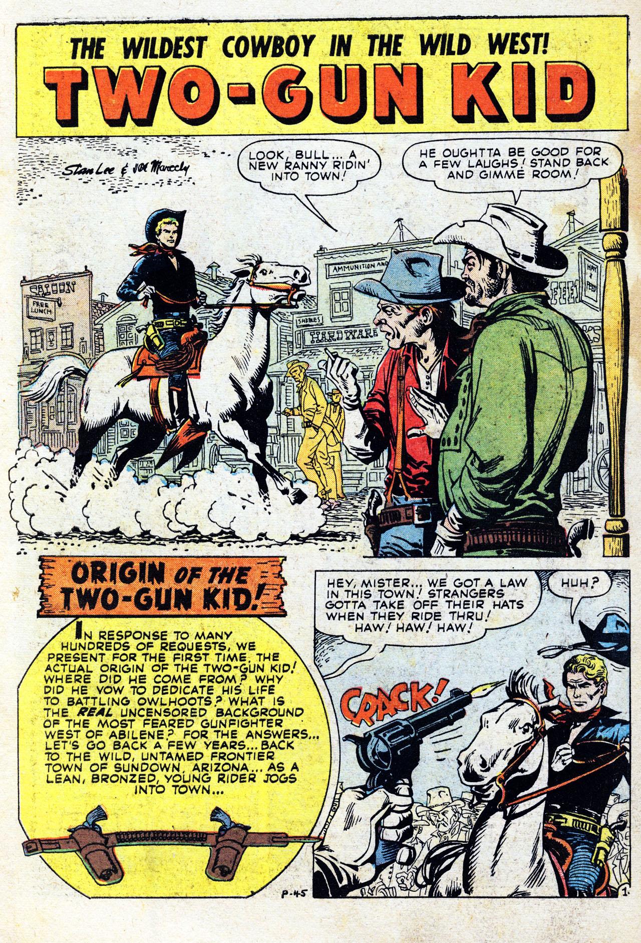 Read online Two-Gun Kid comic -  Issue #41 - 3