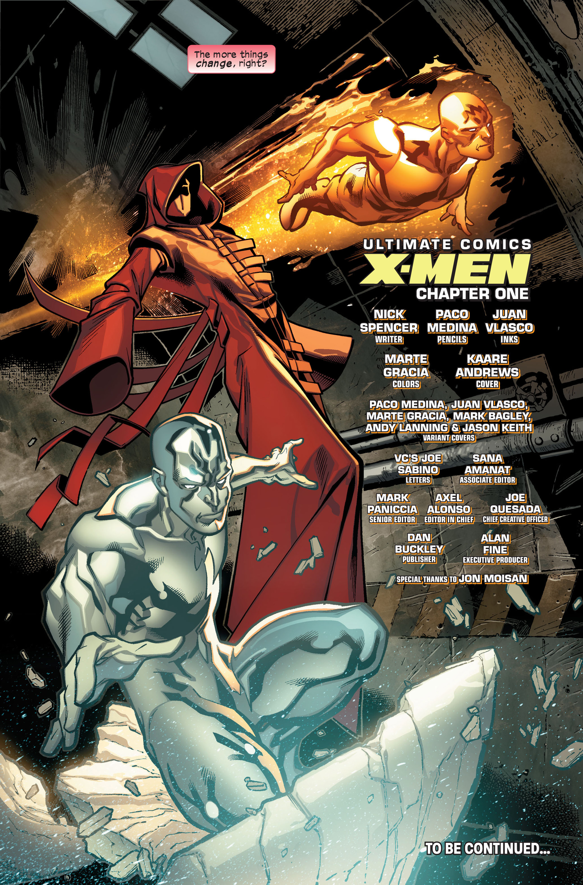 Read online Ultimate Comics X-Men comic -  Issue #1 - 23