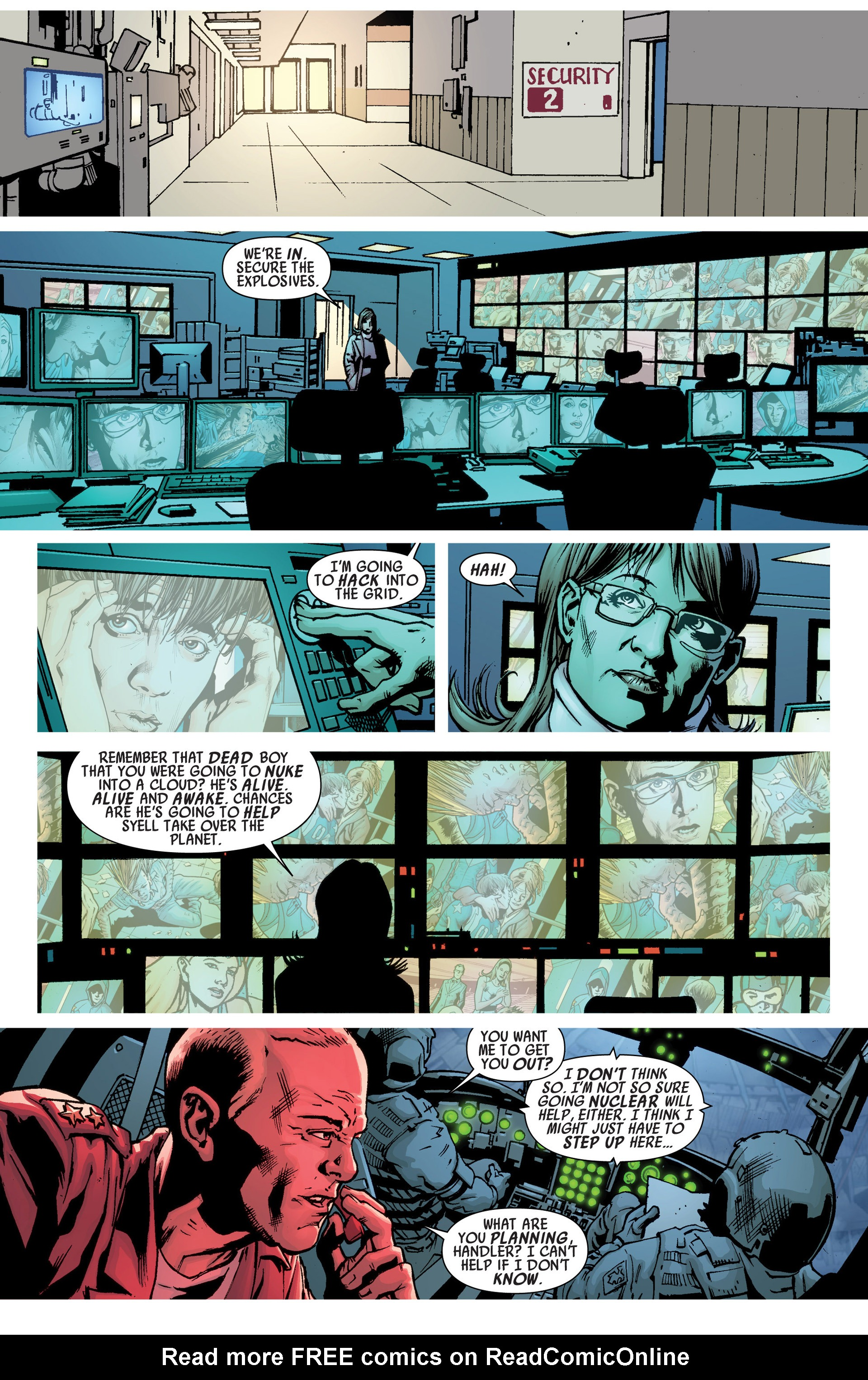 Read online America's Got Powers comic -  Issue #6 - 17