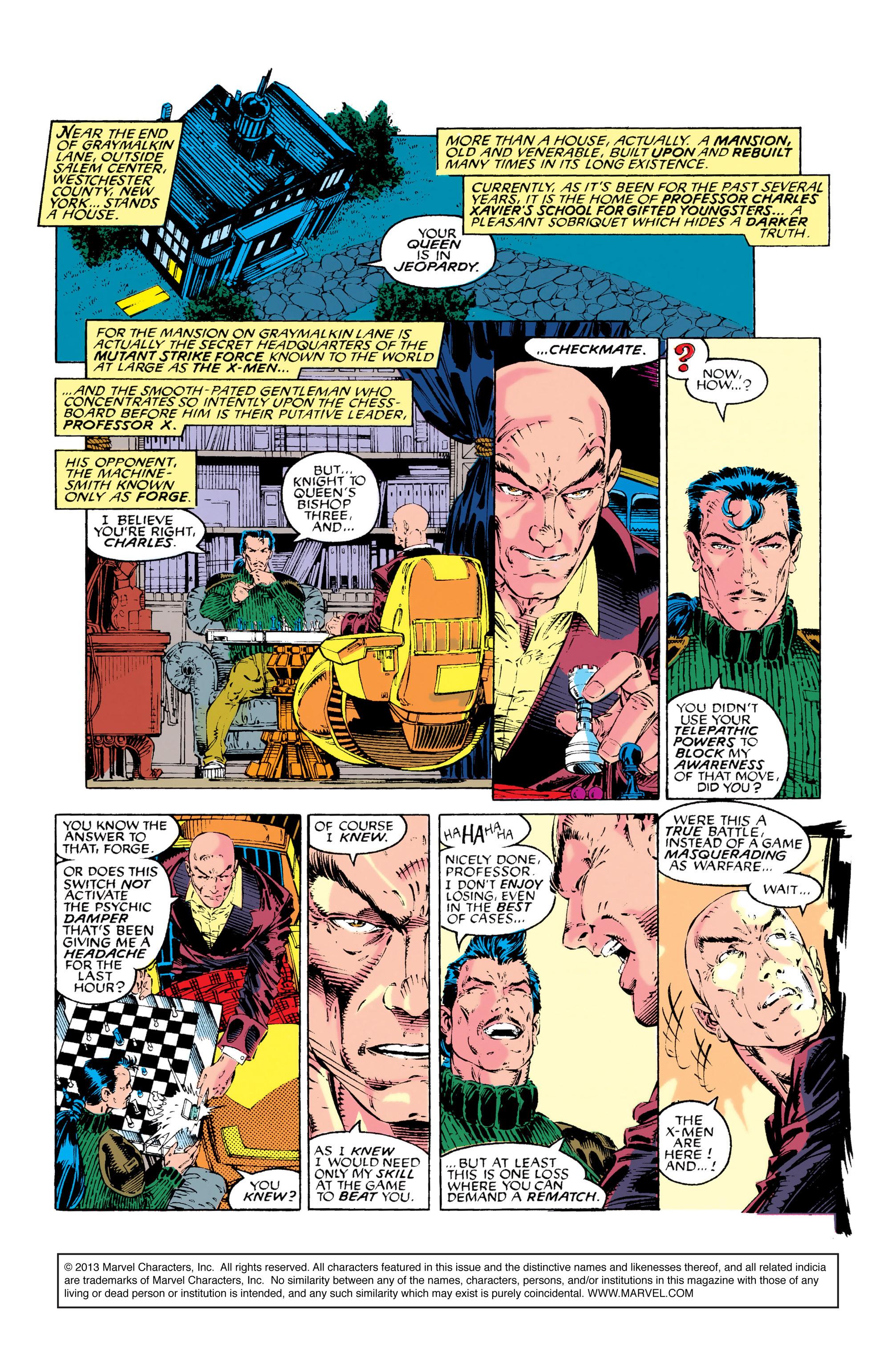 Read online Uncanny X-Men (1963) comic -  Issue #282 - 2