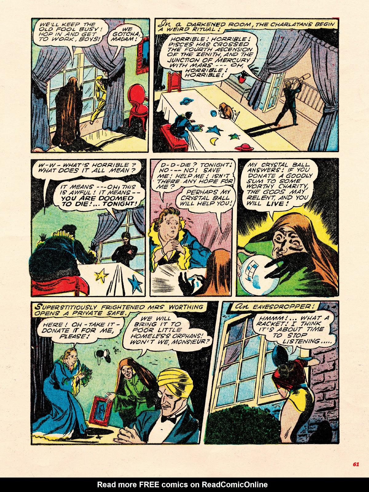 Read online Super Weird Heroes comic -  Issue # TPB 1 (Part 1) - 60