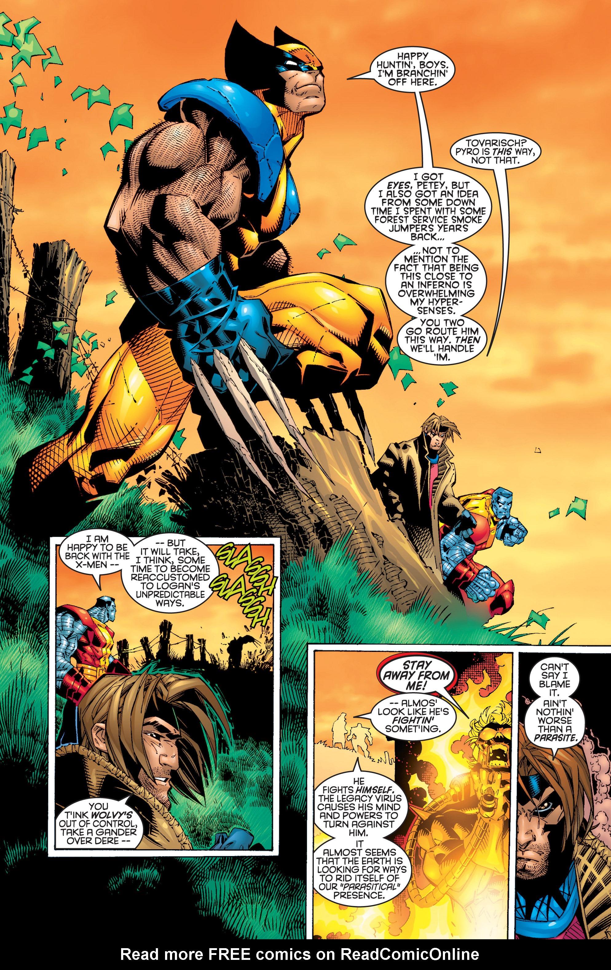 Read online Uncanny X-Men (1963) comic -  Issue #362 - 9