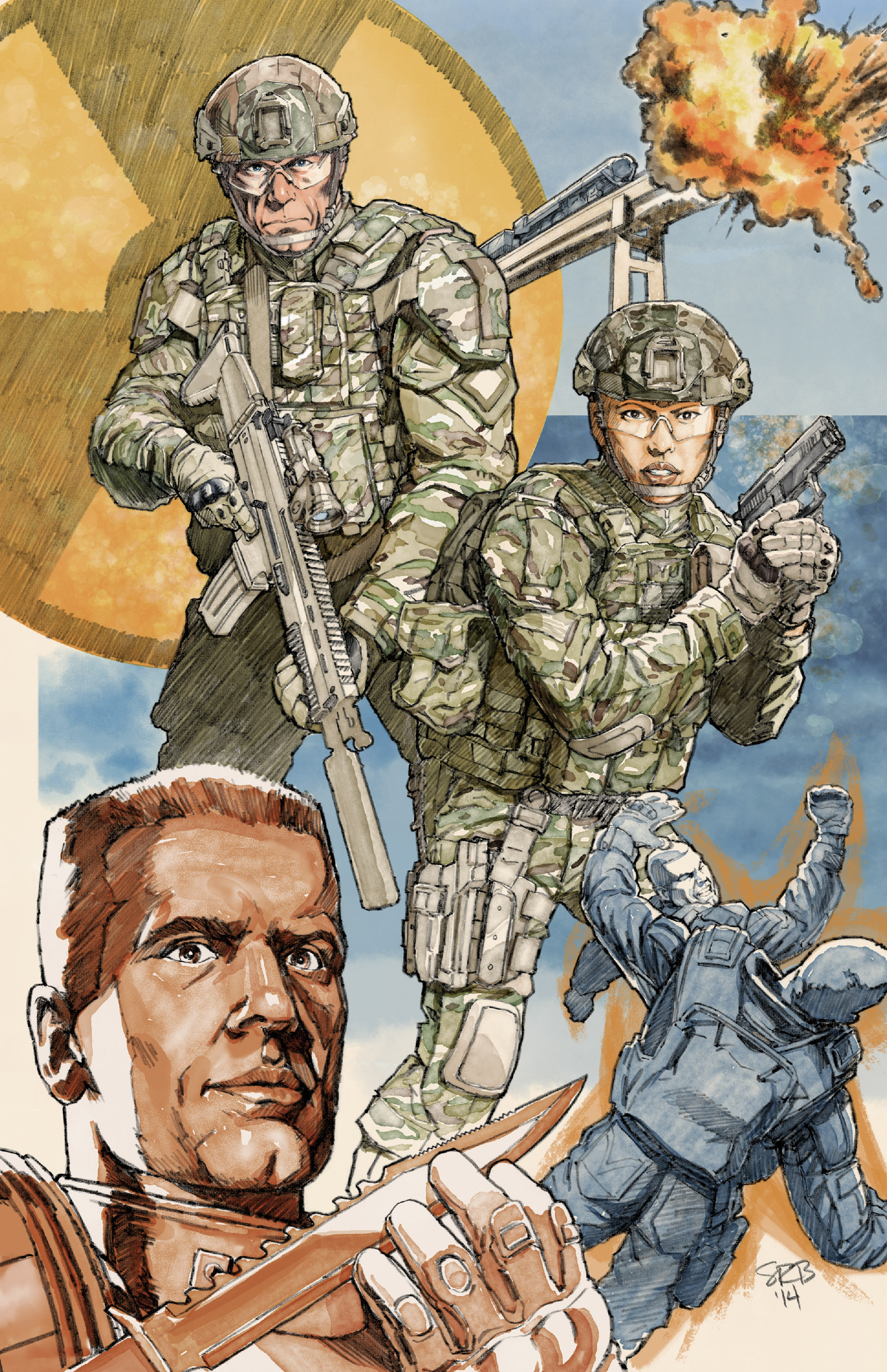 Read online America's Army comic -  Issue #12 - 30