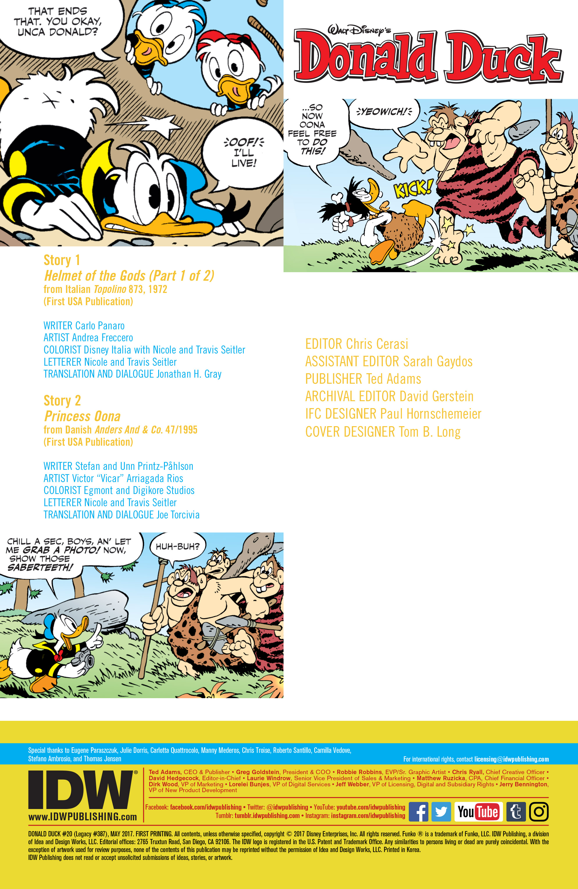 Read online Donald Duck (2015) comic -  Issue #20 - 2