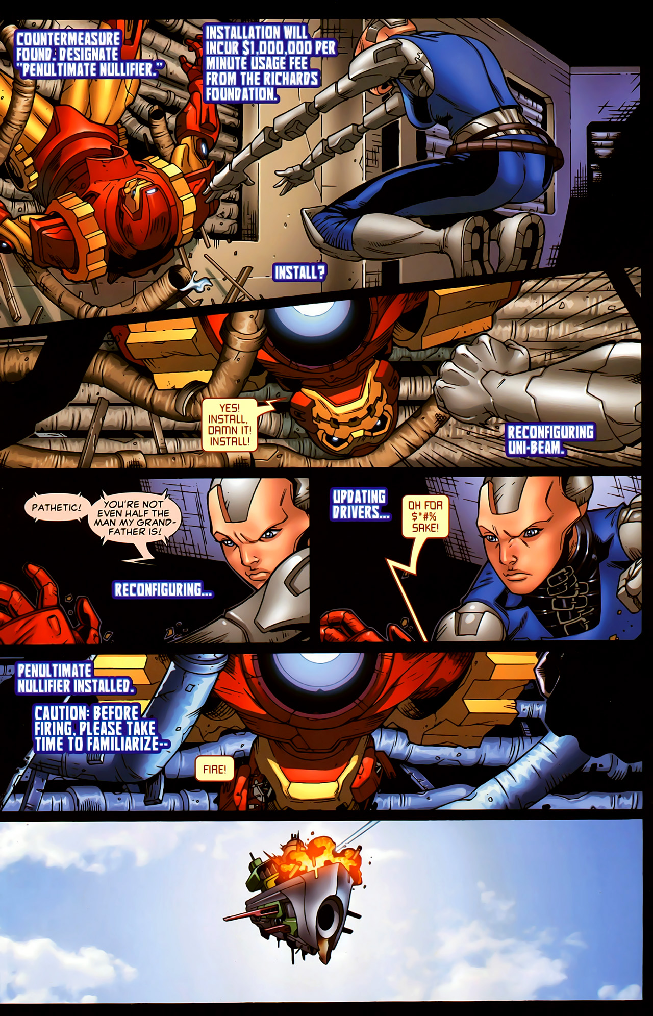 Read online Astonishing Tales (2009) comic -  Issue #5 - 17
