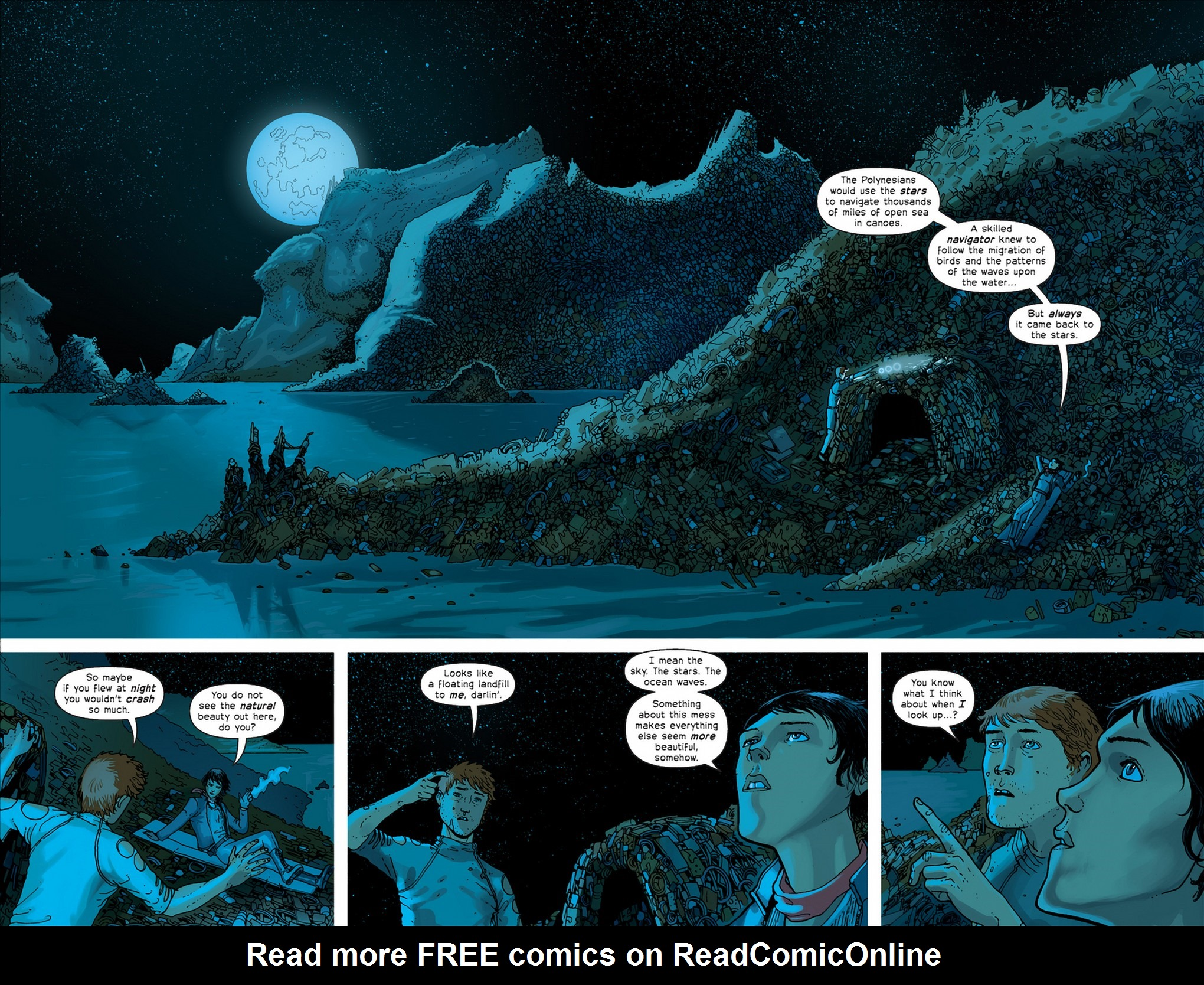 Read online Great Pacific comic -  Issue #4 - 14