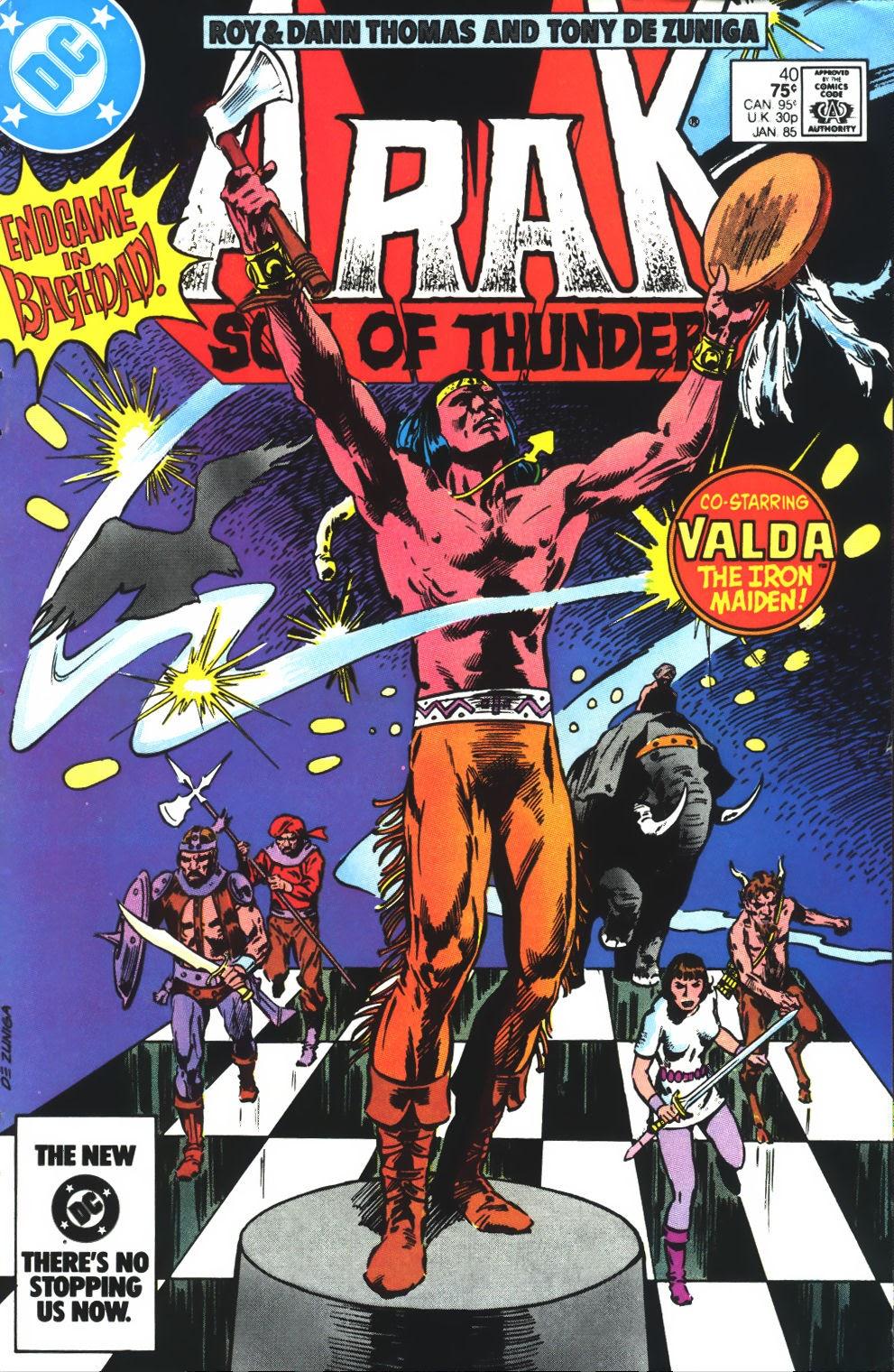 Arak Son of Thunder 40 Page 1