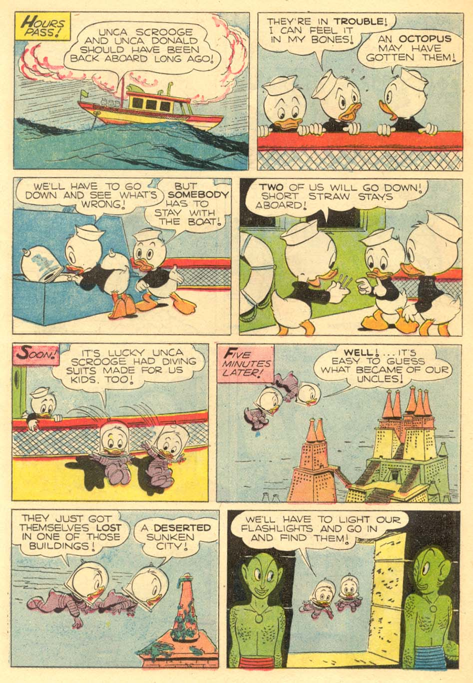 Read online Uncle Scrooge (1953) comic -  Issue #5 - 24