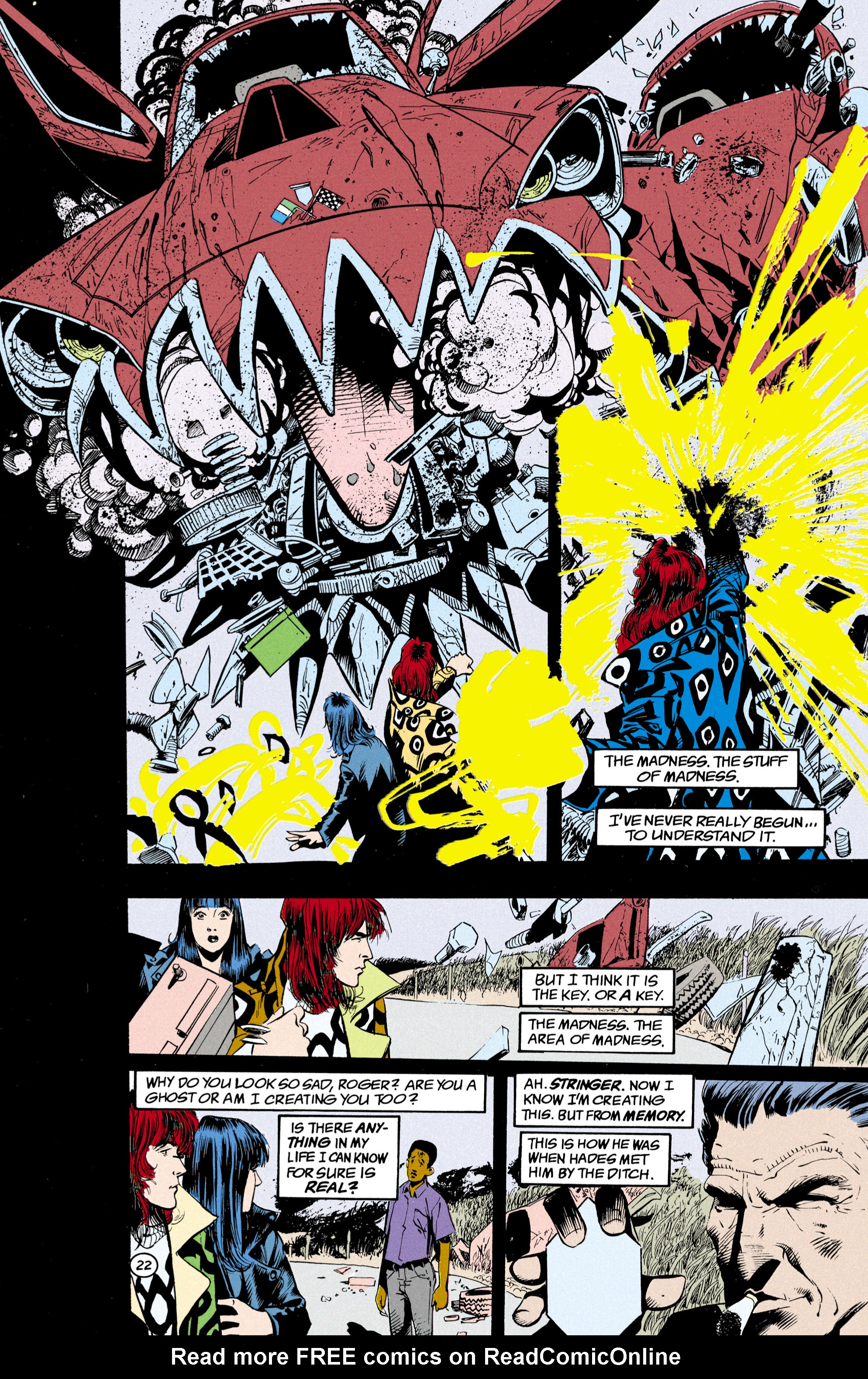 Read online Shade, the Changing Man comic -  Issue #24 - 23