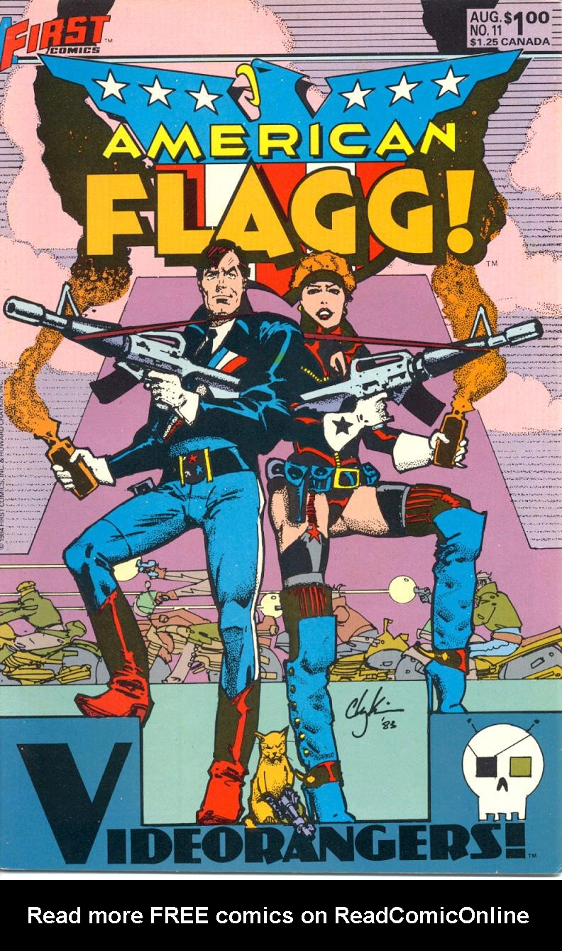 Read online American Flagg! comic -  Issue #11 - 1