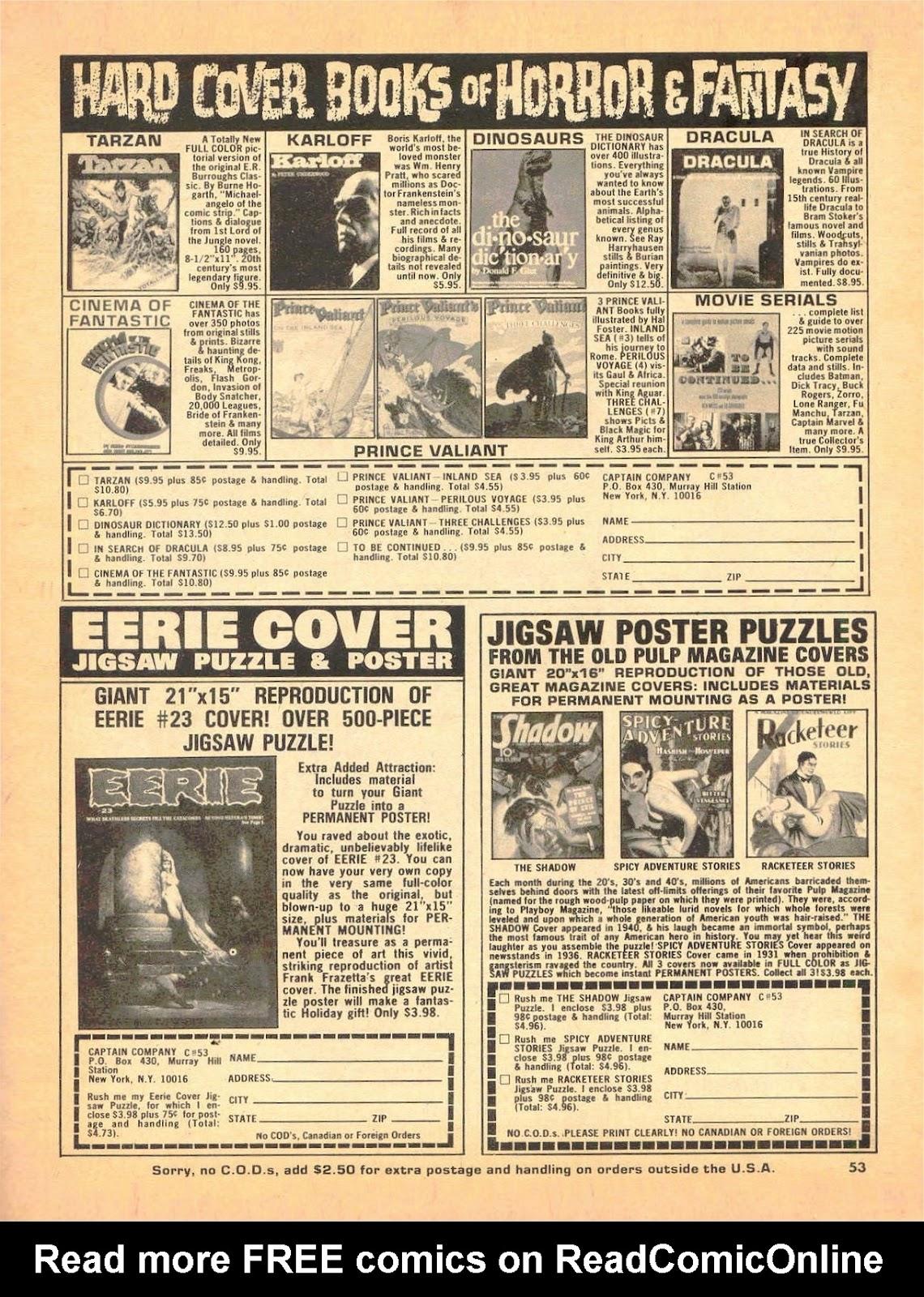 Creepy (1964) Issue #53 #53 - English 52