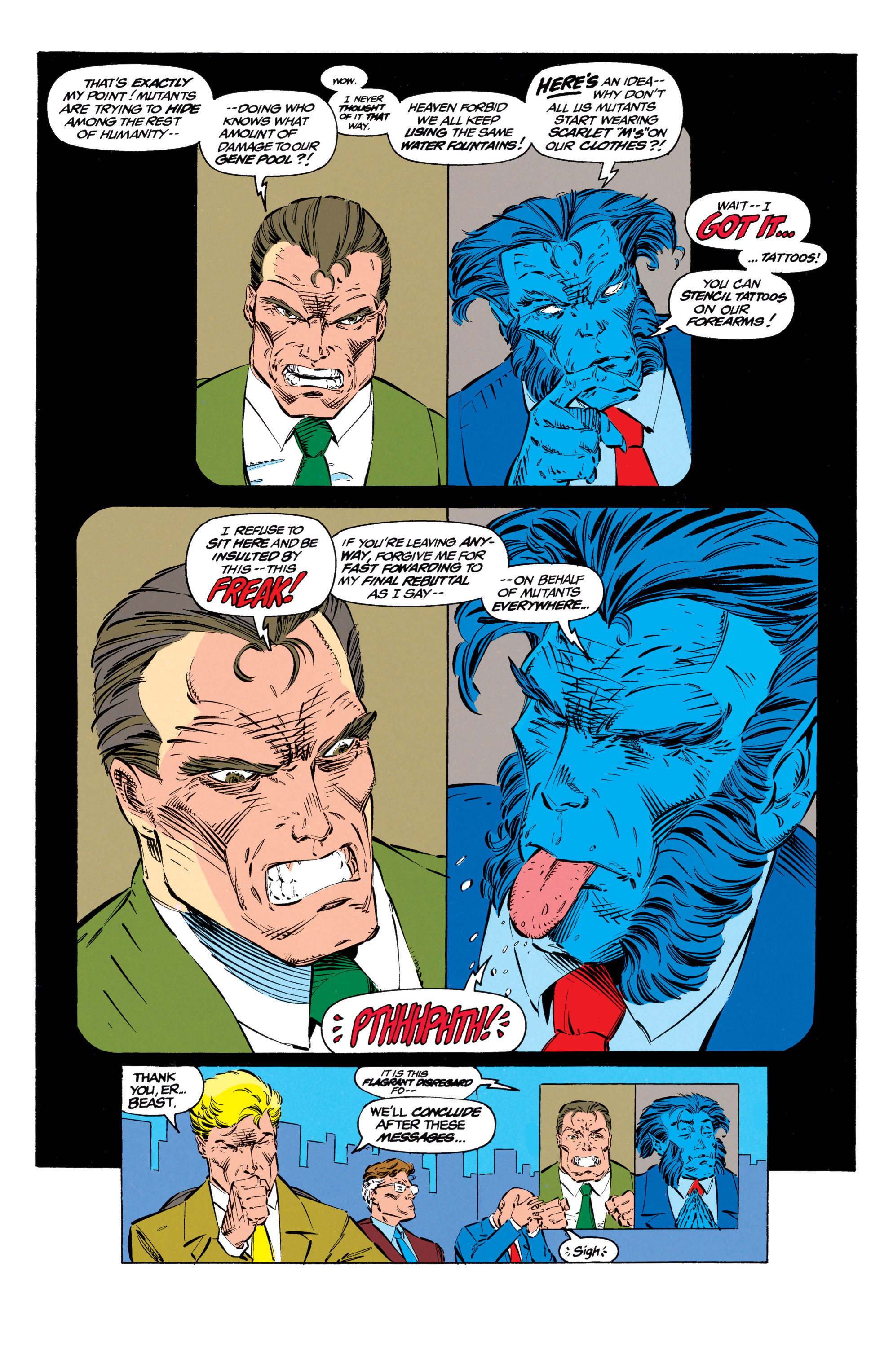 Read online Uncanny X-Men (1963) comic -  Issue #299 - 18