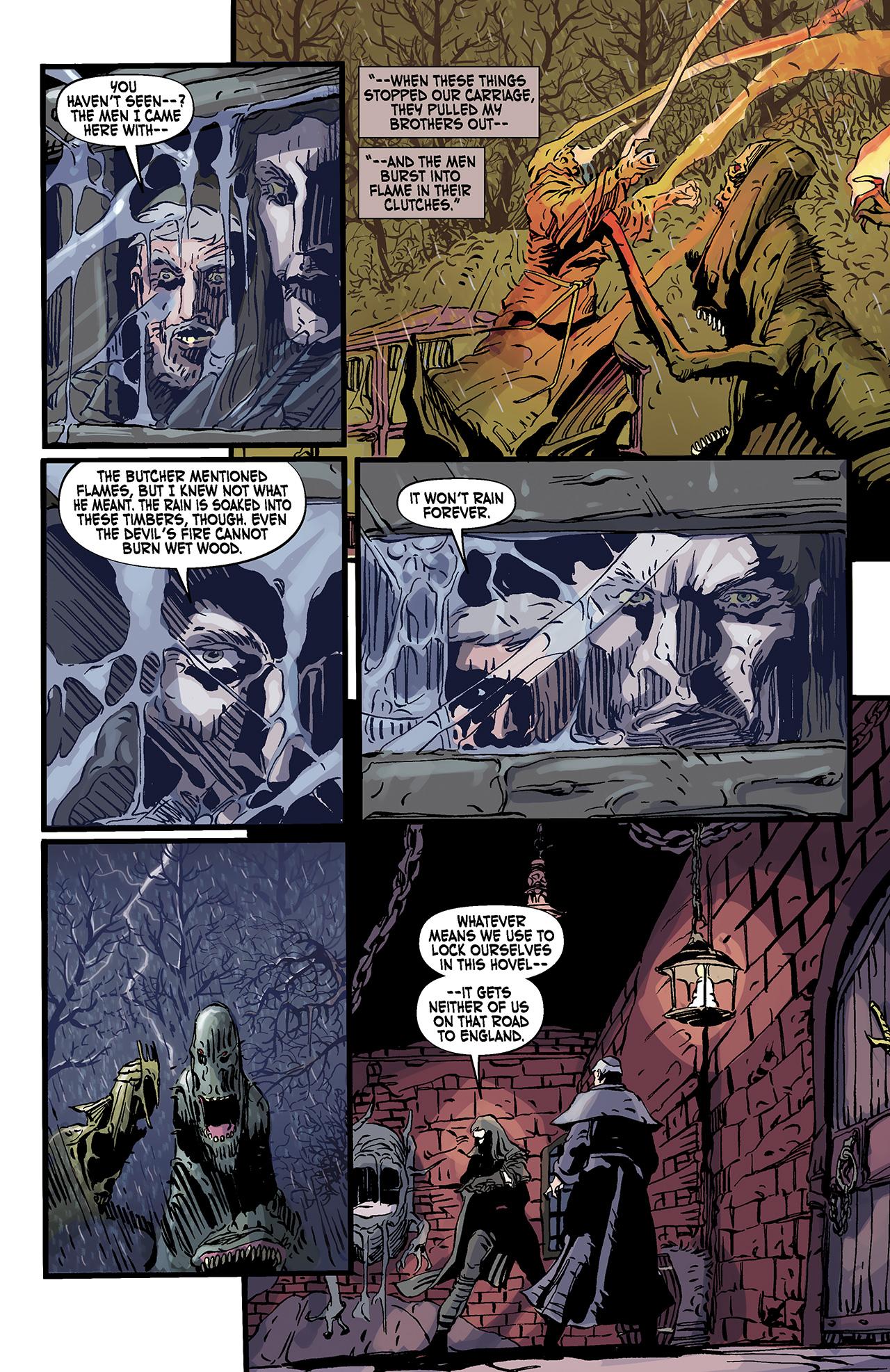 Read online Solomon Kane: Death's Black Riders comic -  Issue #3 - 21