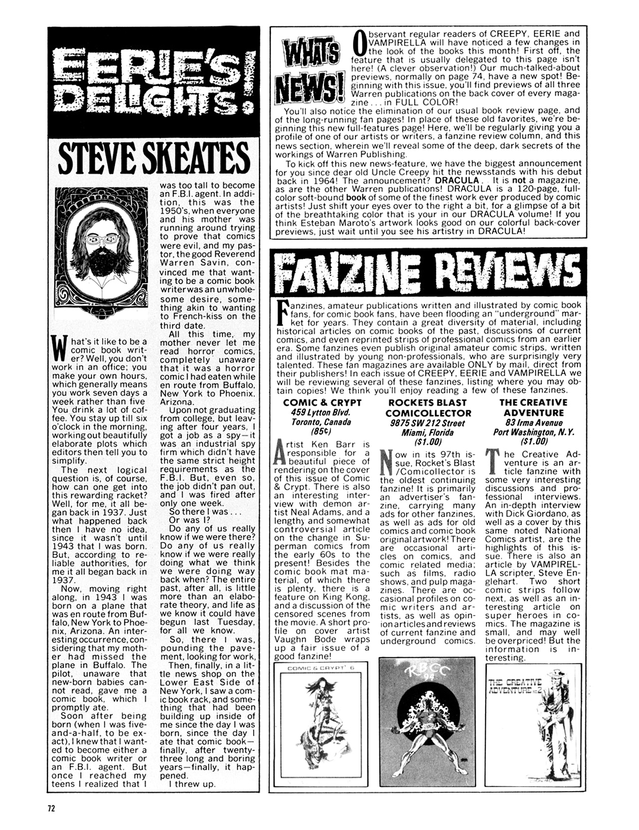 Read online Eerie Archives comic -  Issue # TPB 10 - 73