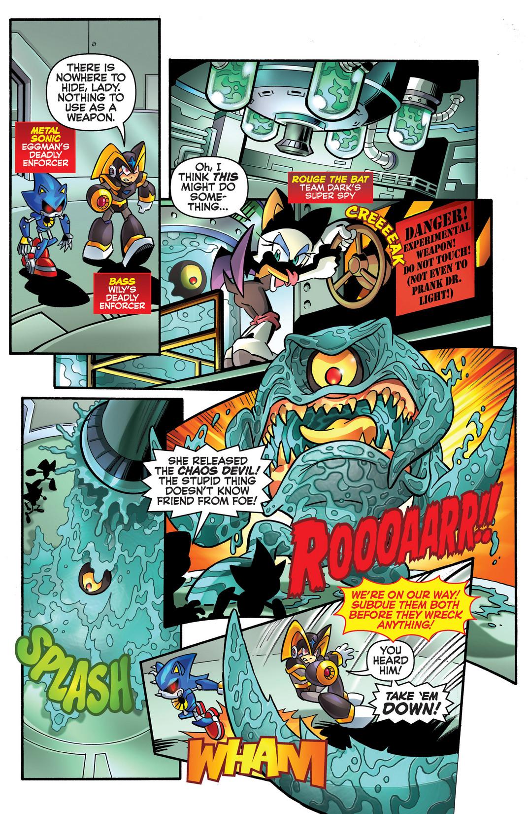 Read online Sonic Mega Man Worlds Collide comic -  Issue # Vol 2 - 101