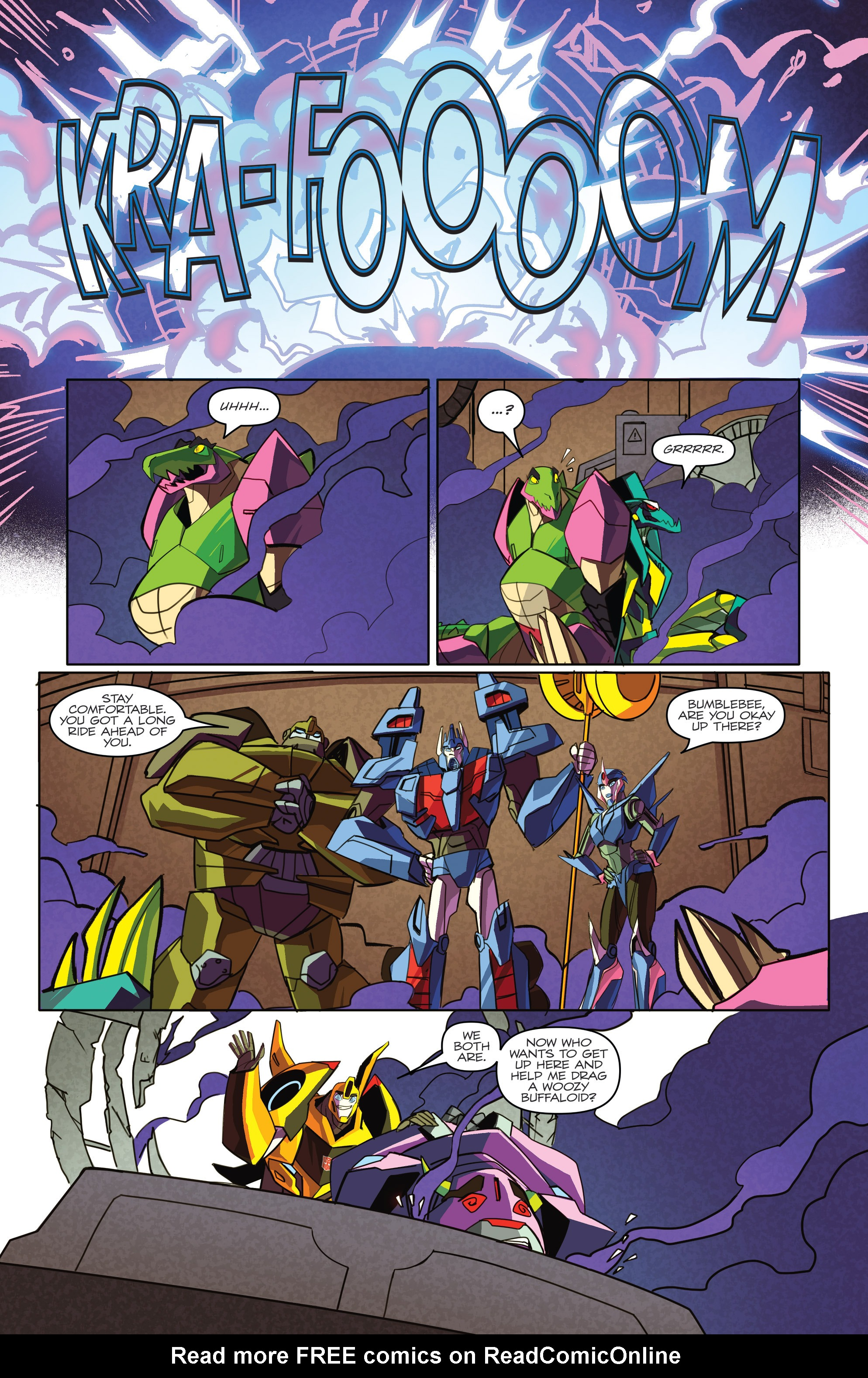 Read online Transformers: Robots In Disguise (2015) comic -  Issue #4 - 22