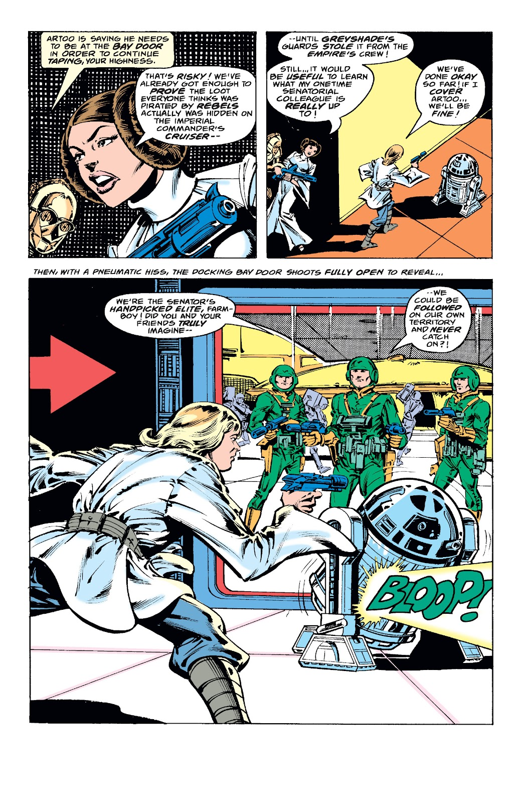 Read online Star Wars Legends: The Original Marvel Years - Epic Collection comic -  Issue # TPB 1 (Part 4) - 94