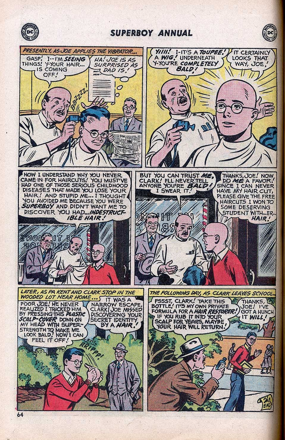 Superboy (1949) issue Annual 1 - Page 66