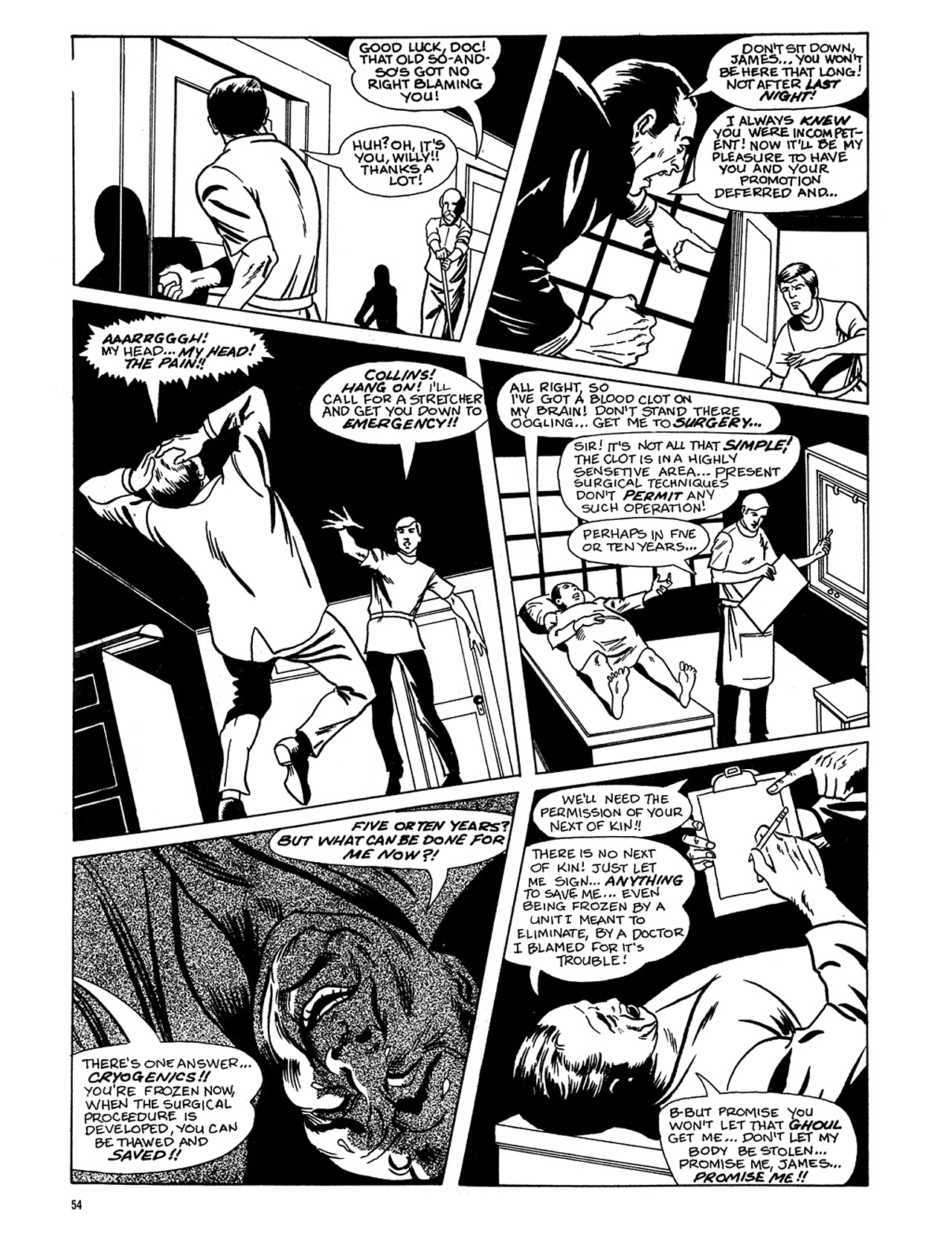 Read online Eerie Archives comic -  Issue # TPB 6 - 55