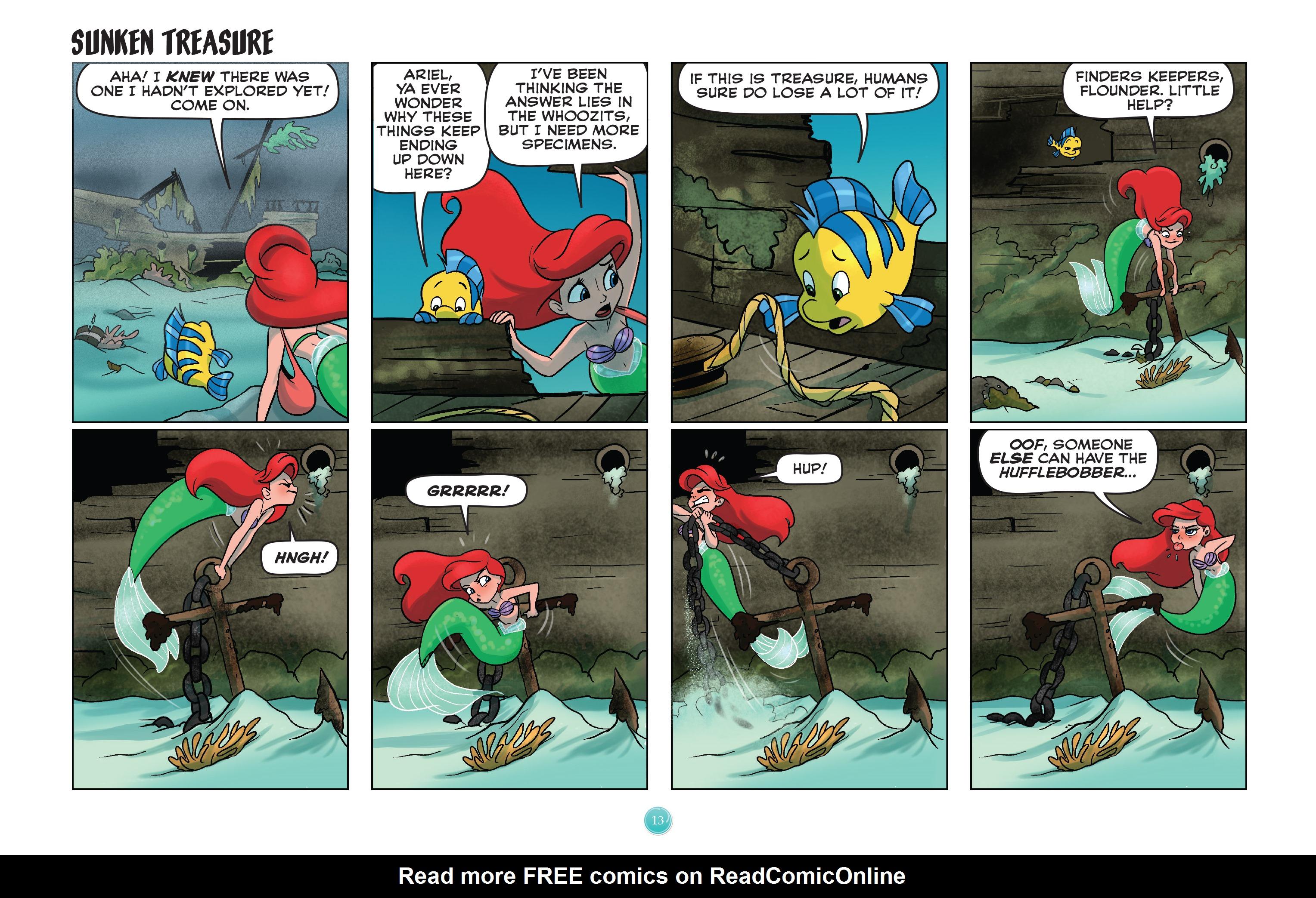 Read online Disney Princess comic -  Issue #8 - 13