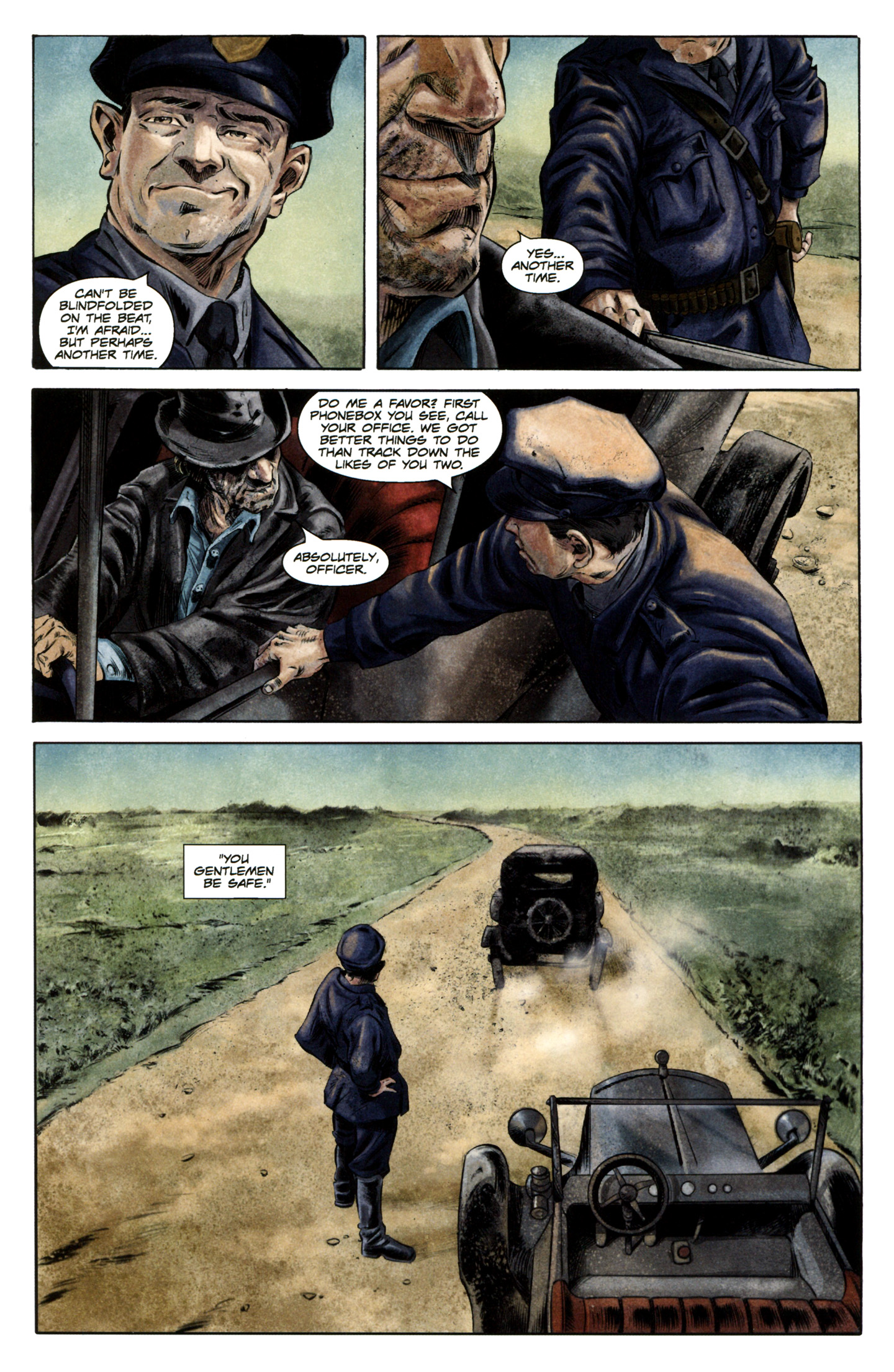 Read online Severed comic -  Issue #5 - 7