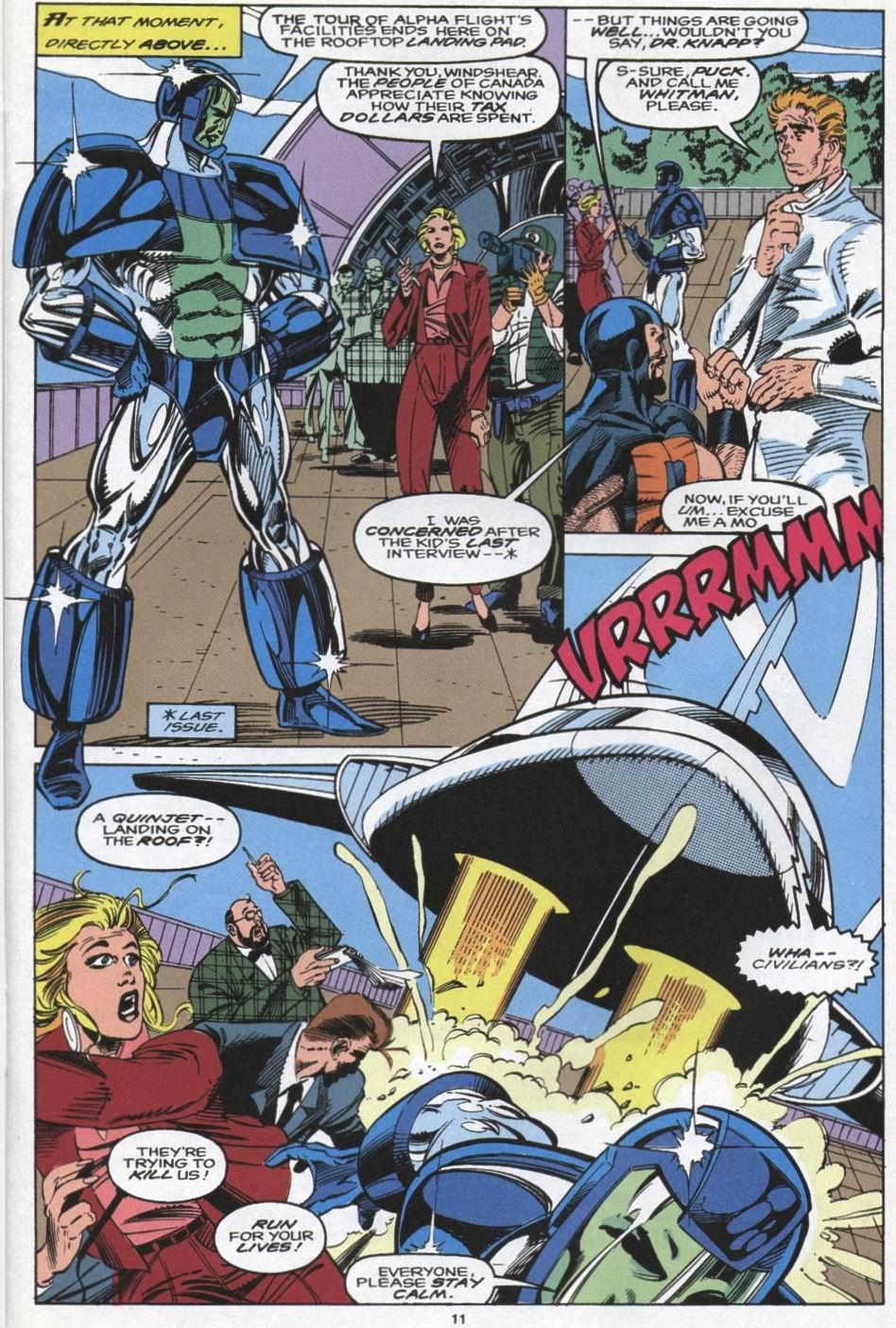 Read online Alpha Flight (1983) comic -  Issue #104 - 10