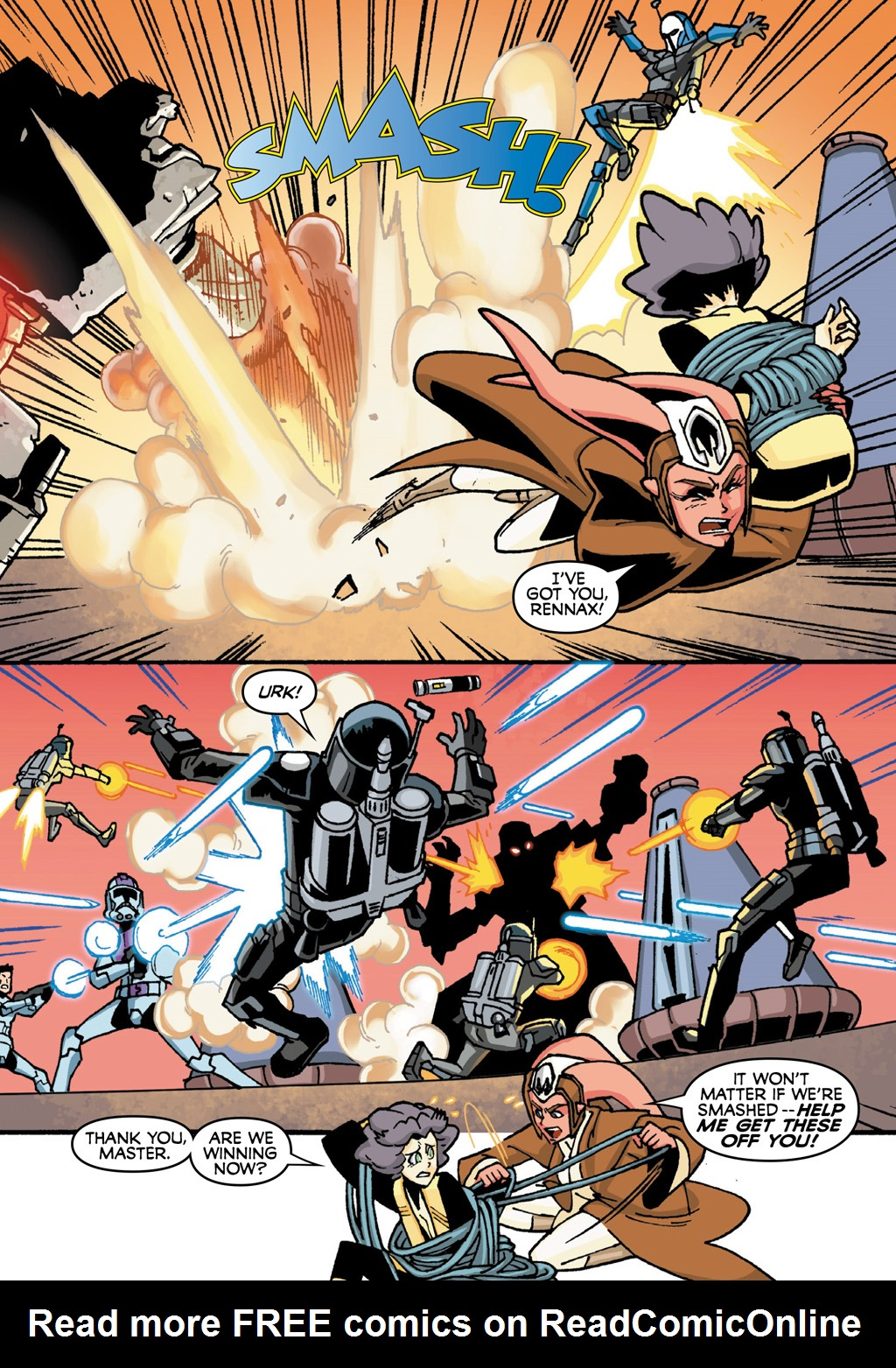 Read online Star Wars: The Clone Wars - Defenders of the Lost Temple comic -  Issue # Full - 62