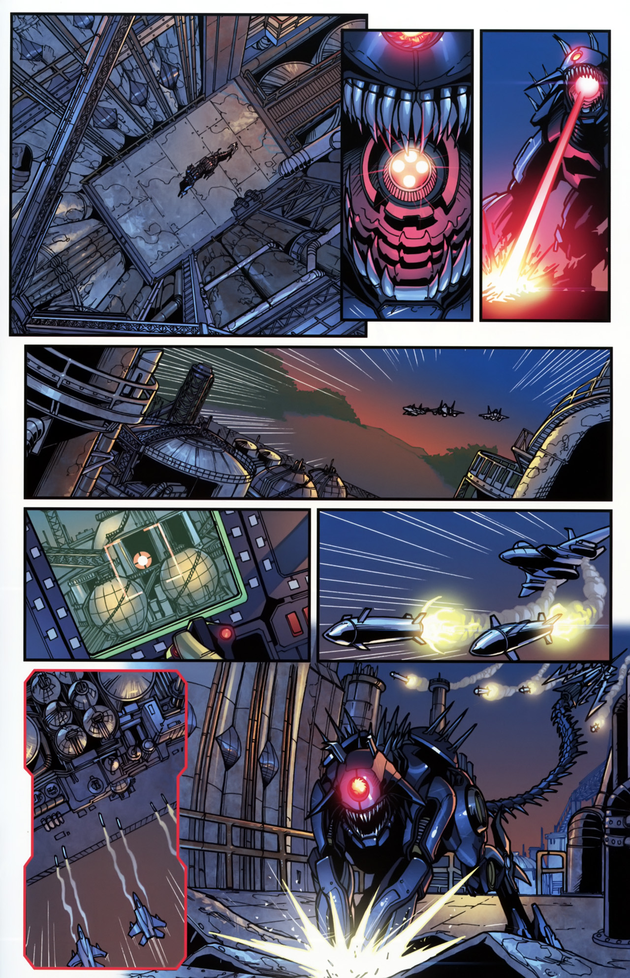 Read online Transformers: Tales of The Fallen comic -  Issue #5 - 21