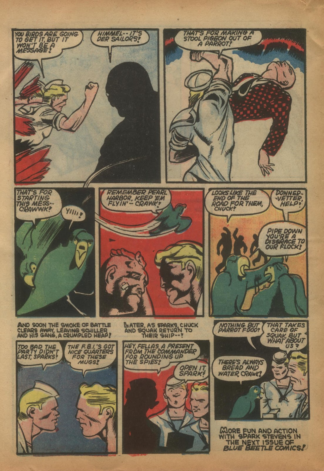 The Blue Beetle issue 15 - Page 52