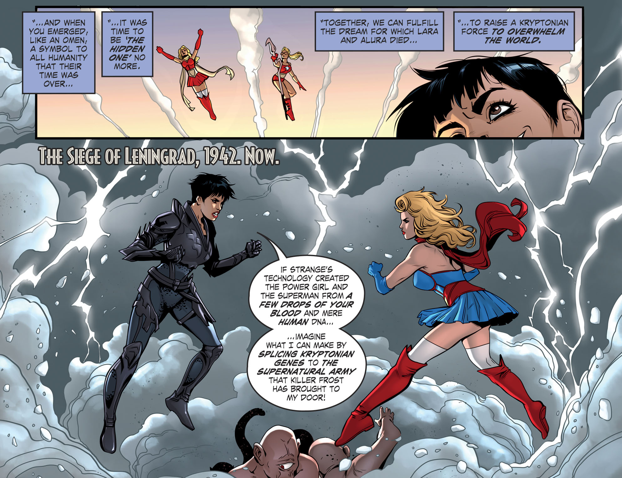 Read online DC Comics: Bombshells comic -  Issue #94 - 17