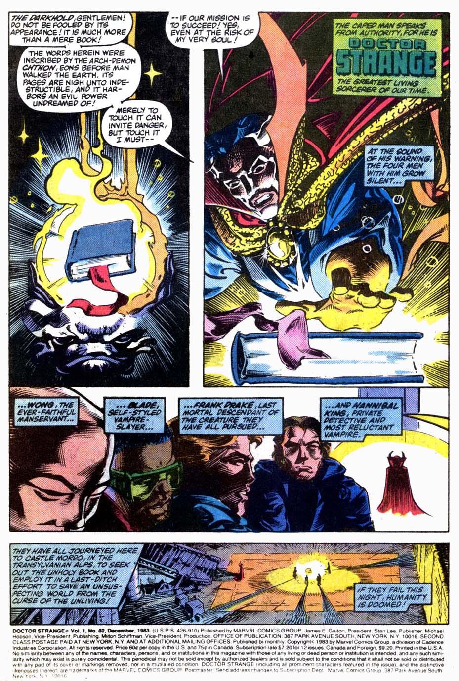 Doctor Strange (1974) 62 Page 2
