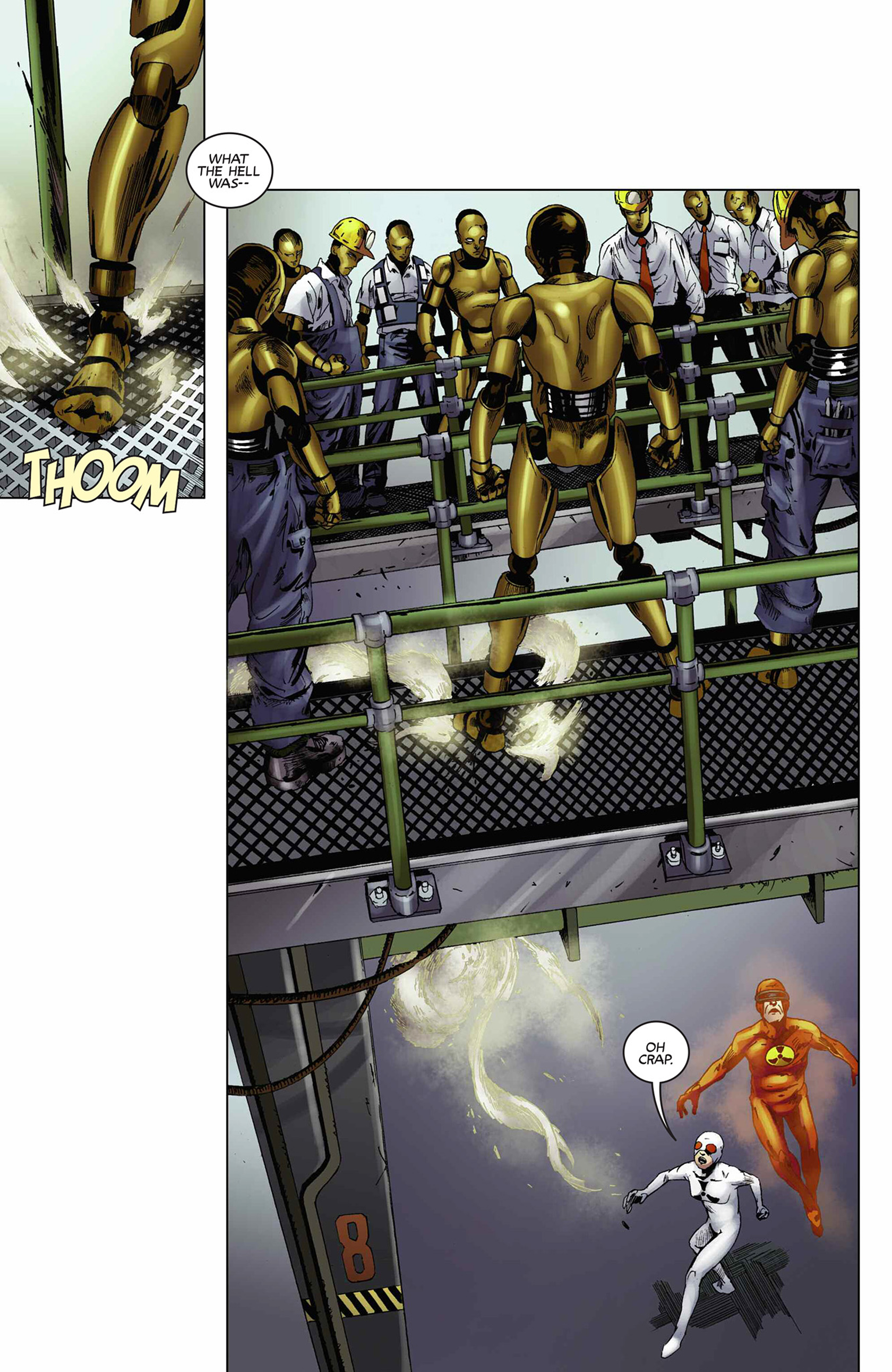 Read online Solar: Man of the Atom (2014) comic -  Issue #9 - 19