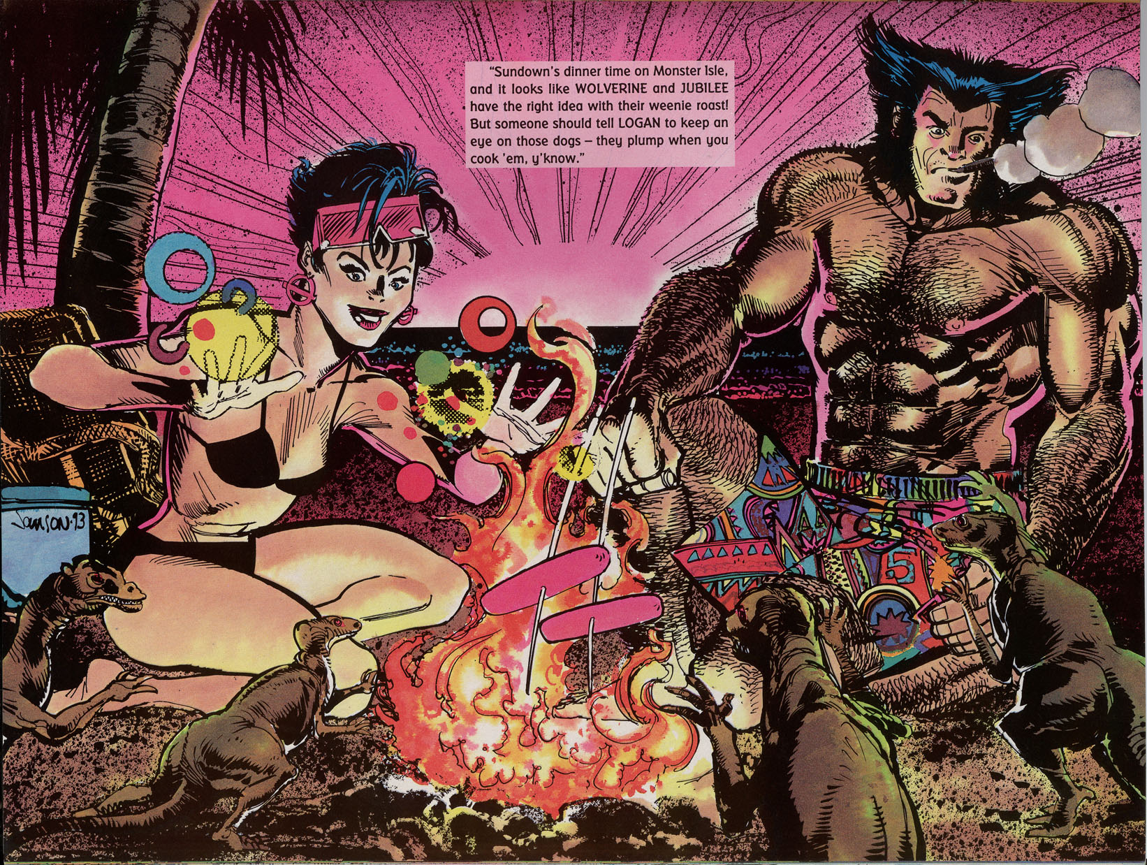 Read online Marvel Swimsuit Special comic -  Issue #2 - 31