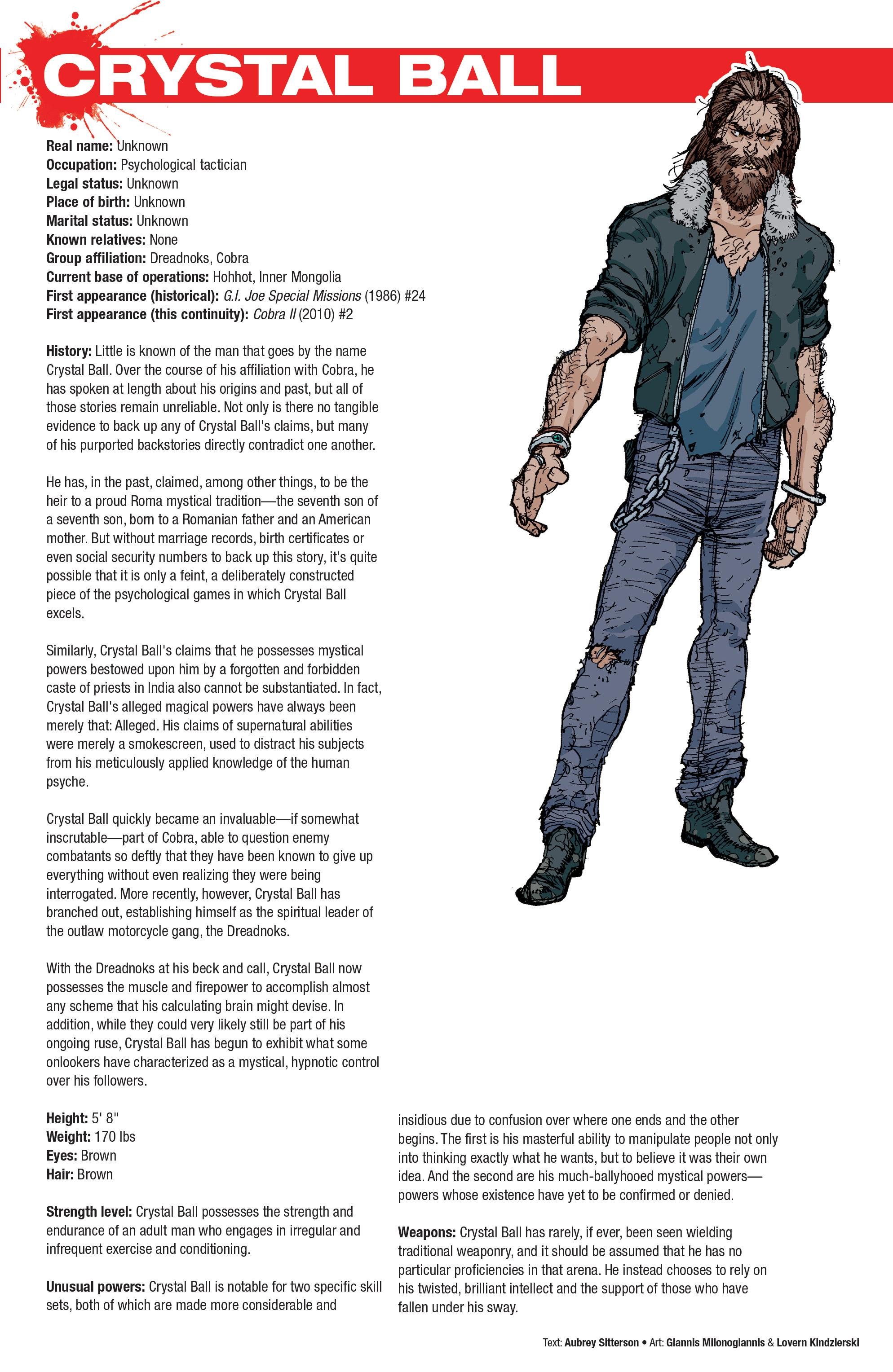 Read online Hasbro Heroes Sourcebook comic -  Issue #1 - 32