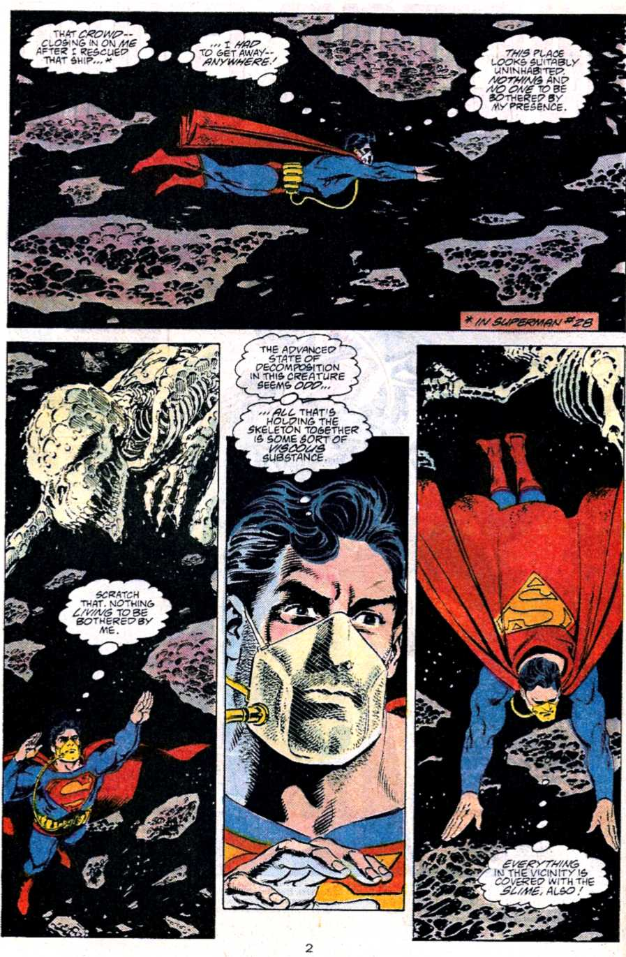 Read online Adventures of Superman (1987) comic -  Issue #451 - 3