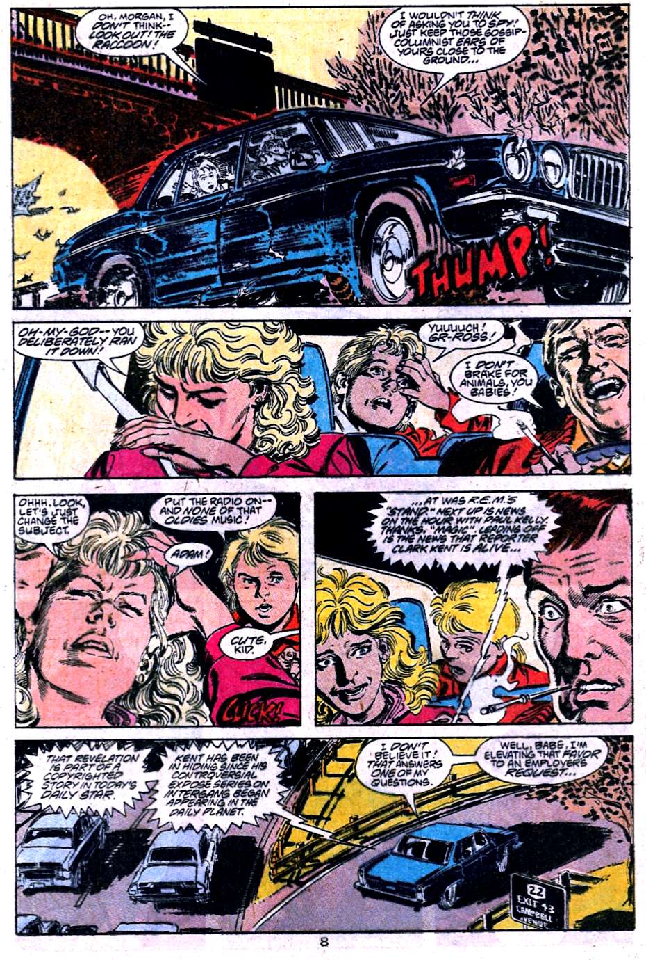 Read online Adventures of Superman (1987) comic -  Issue #454 - 9