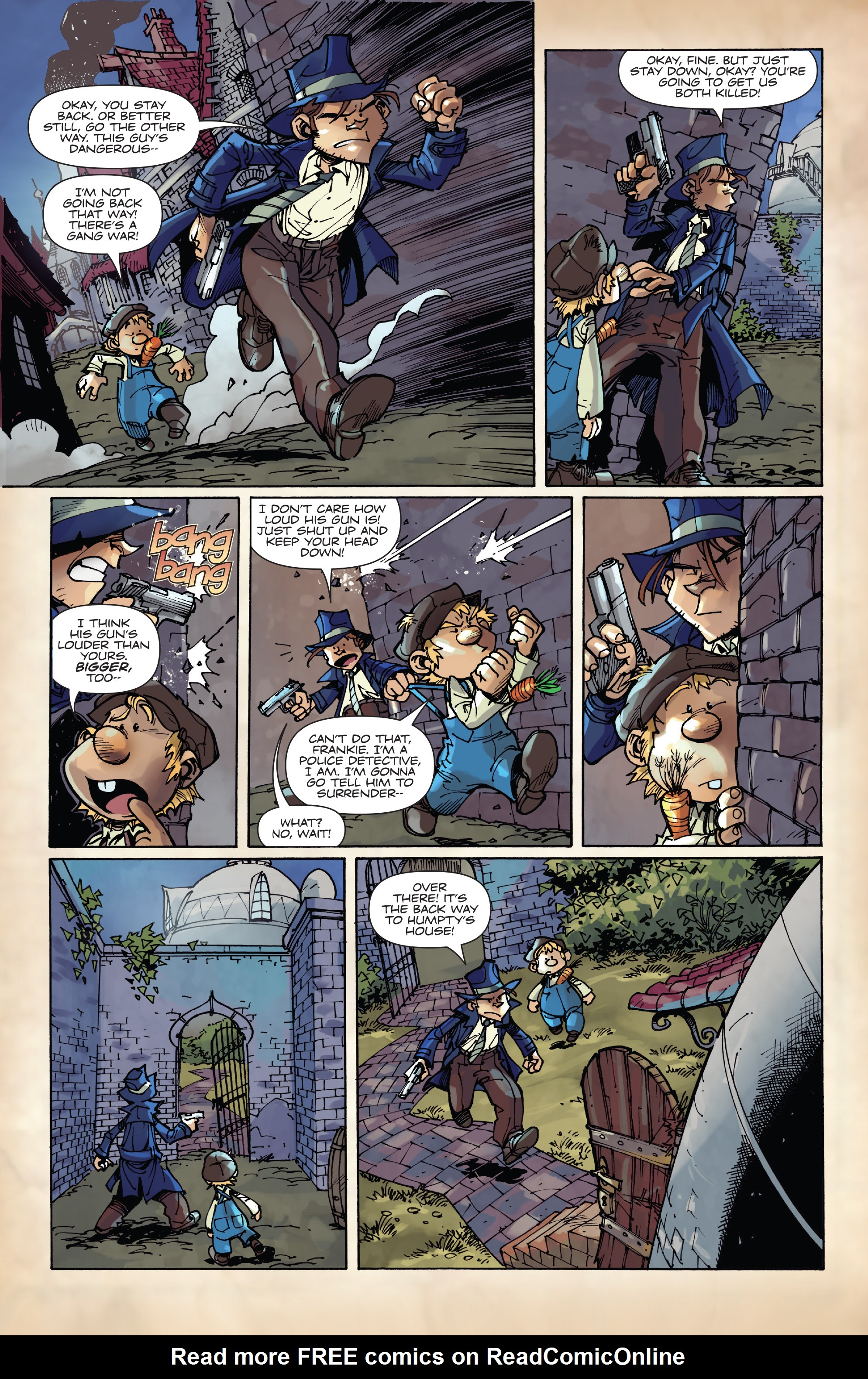 Read online Fiction Squad comic -  Issue #3 - 21