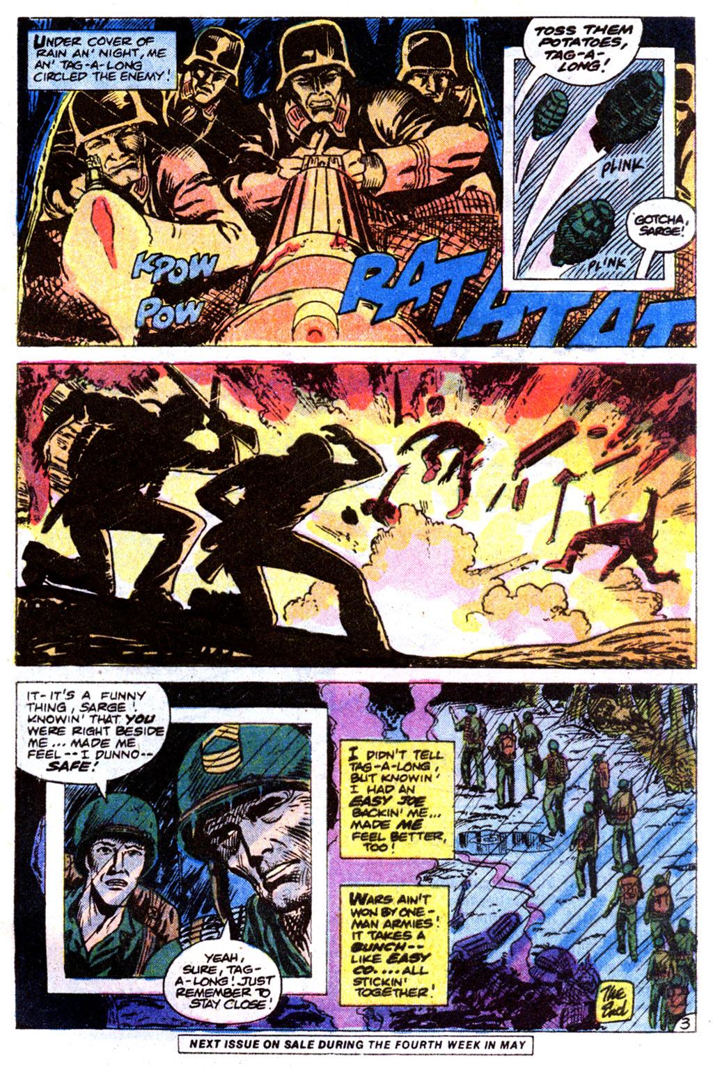 Read online Sgt. Rock comic -  Issue #354 - 27
